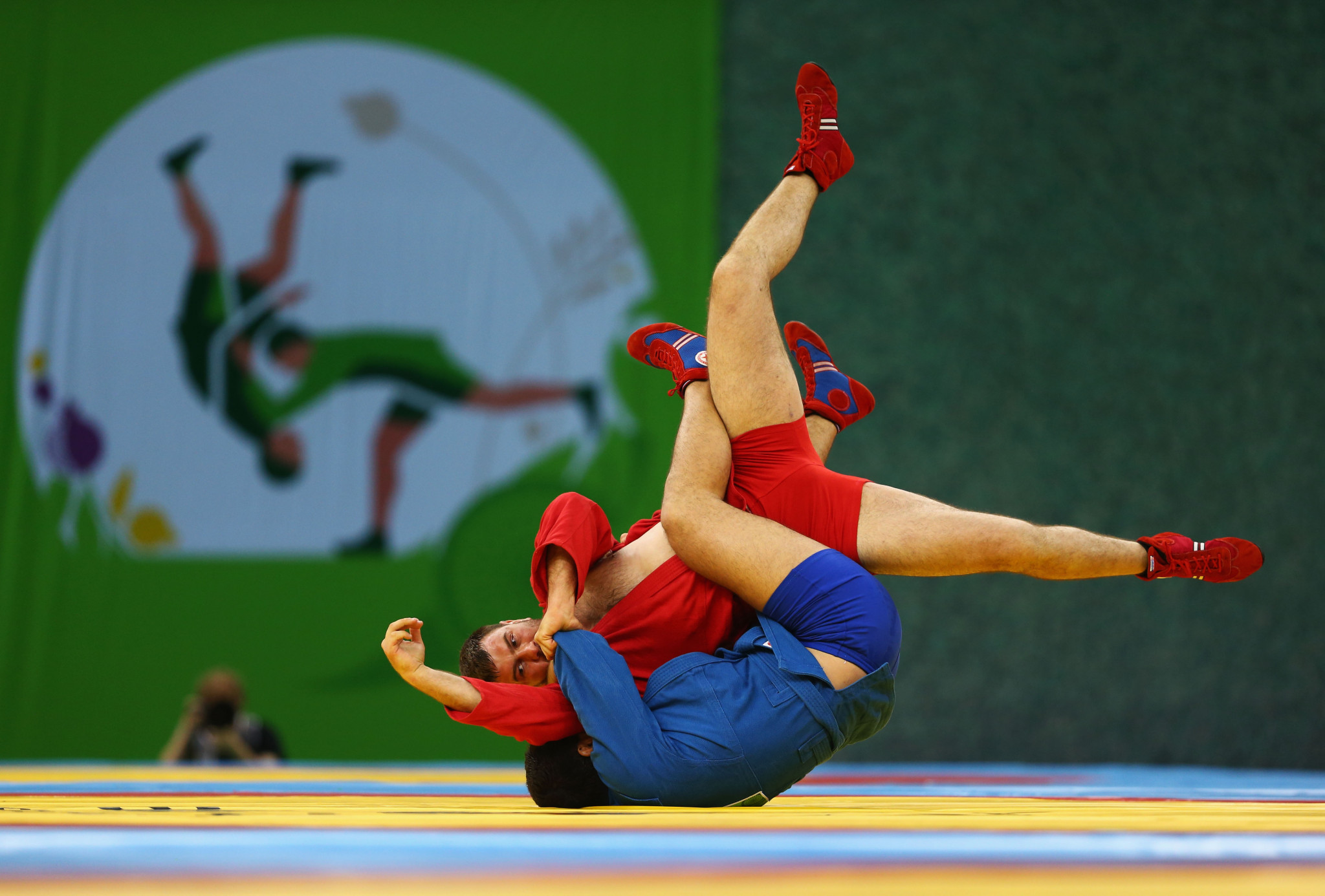 Sambo featured in the 2015 and 2019 European Games ©Getty Images