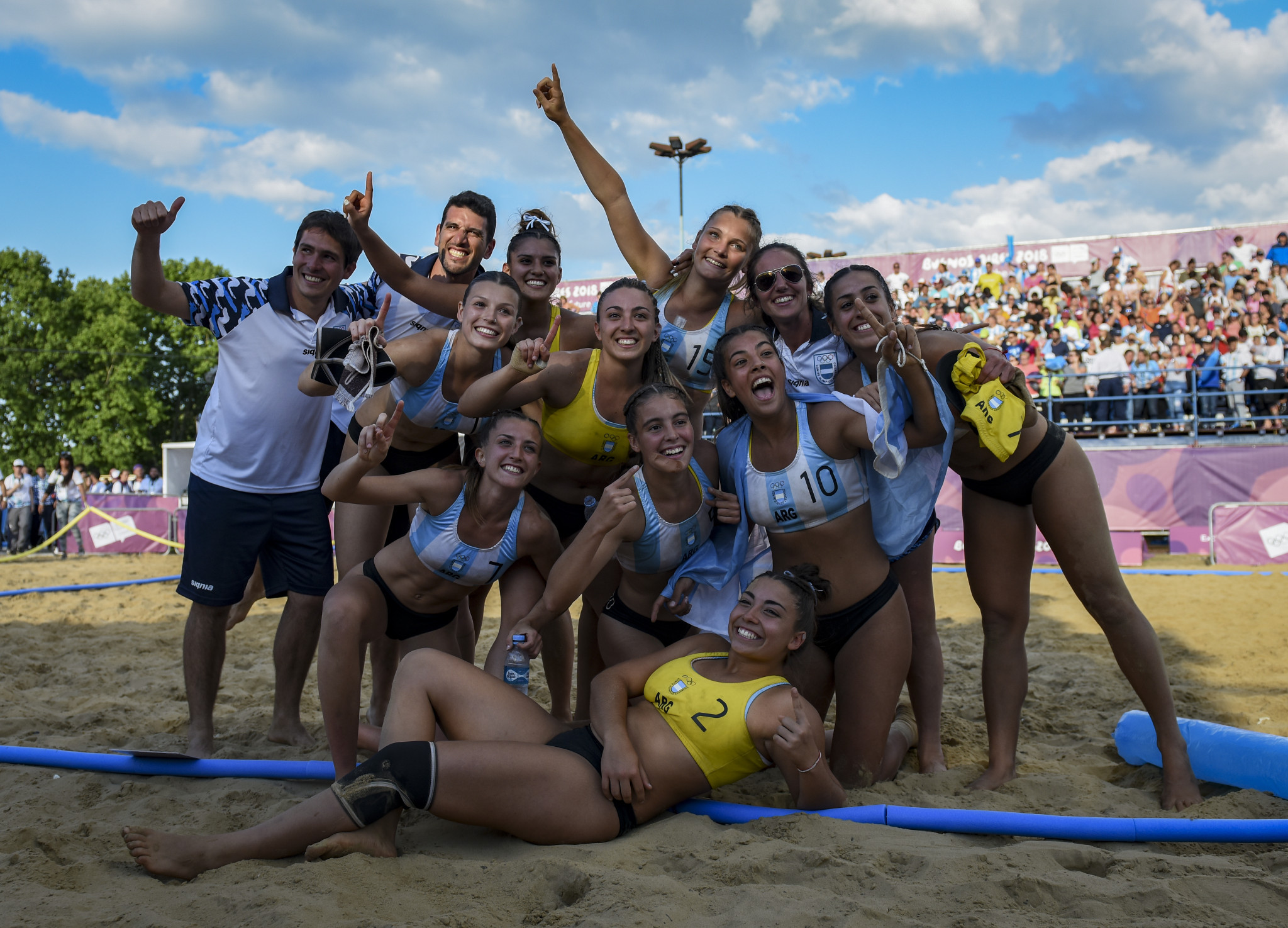 Argentine Sports Schools programme holds Dakar 2026 project handball seminar