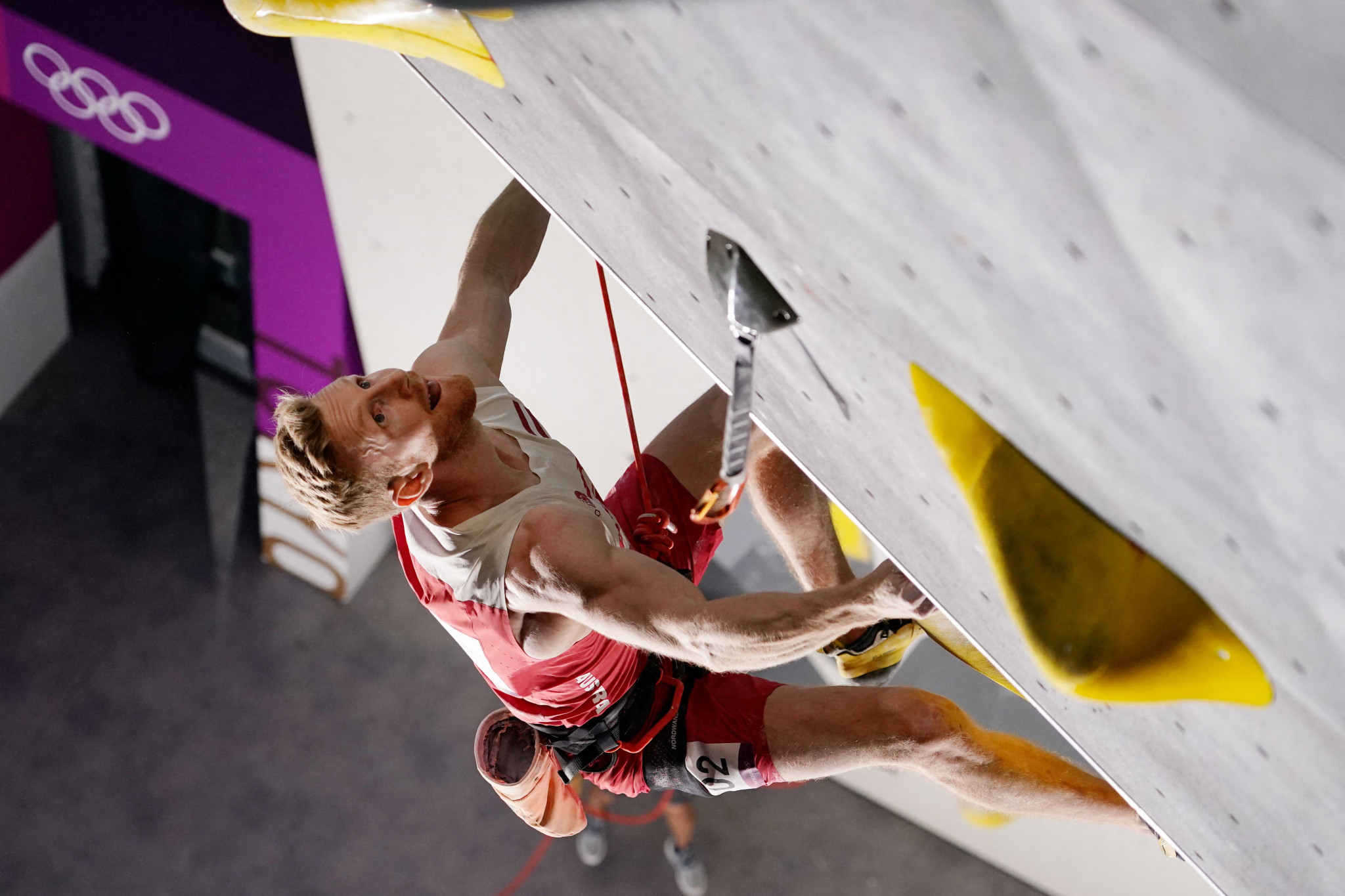 Sport climbing made its Olympic debut today with men's qualification ©Getty Images