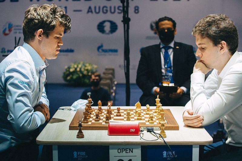 Duda shocks world champion Carlsen to reach Chess World Cup final