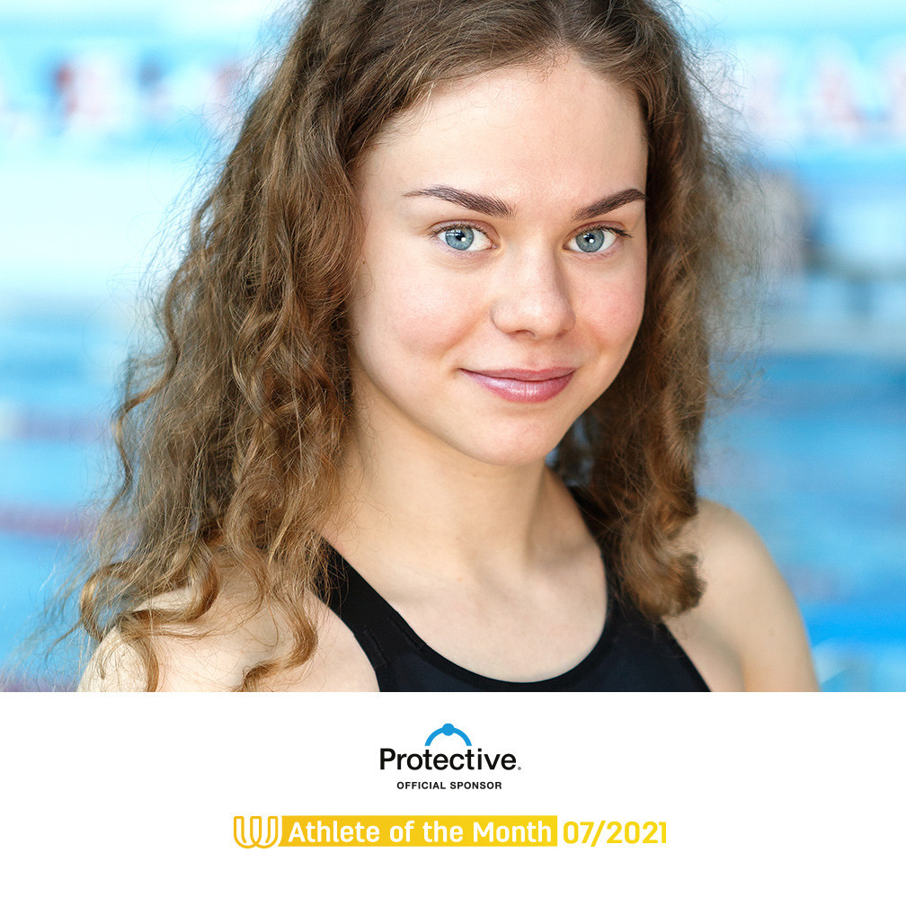 Finswimmer Mikhaylushkina named The World Games Athlete of the Month for July
