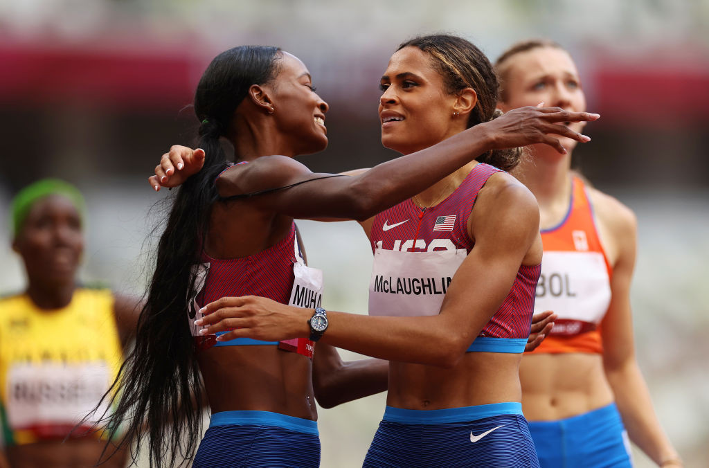 McLaughlin smashes own world record to win epic women's 400m hurdles final