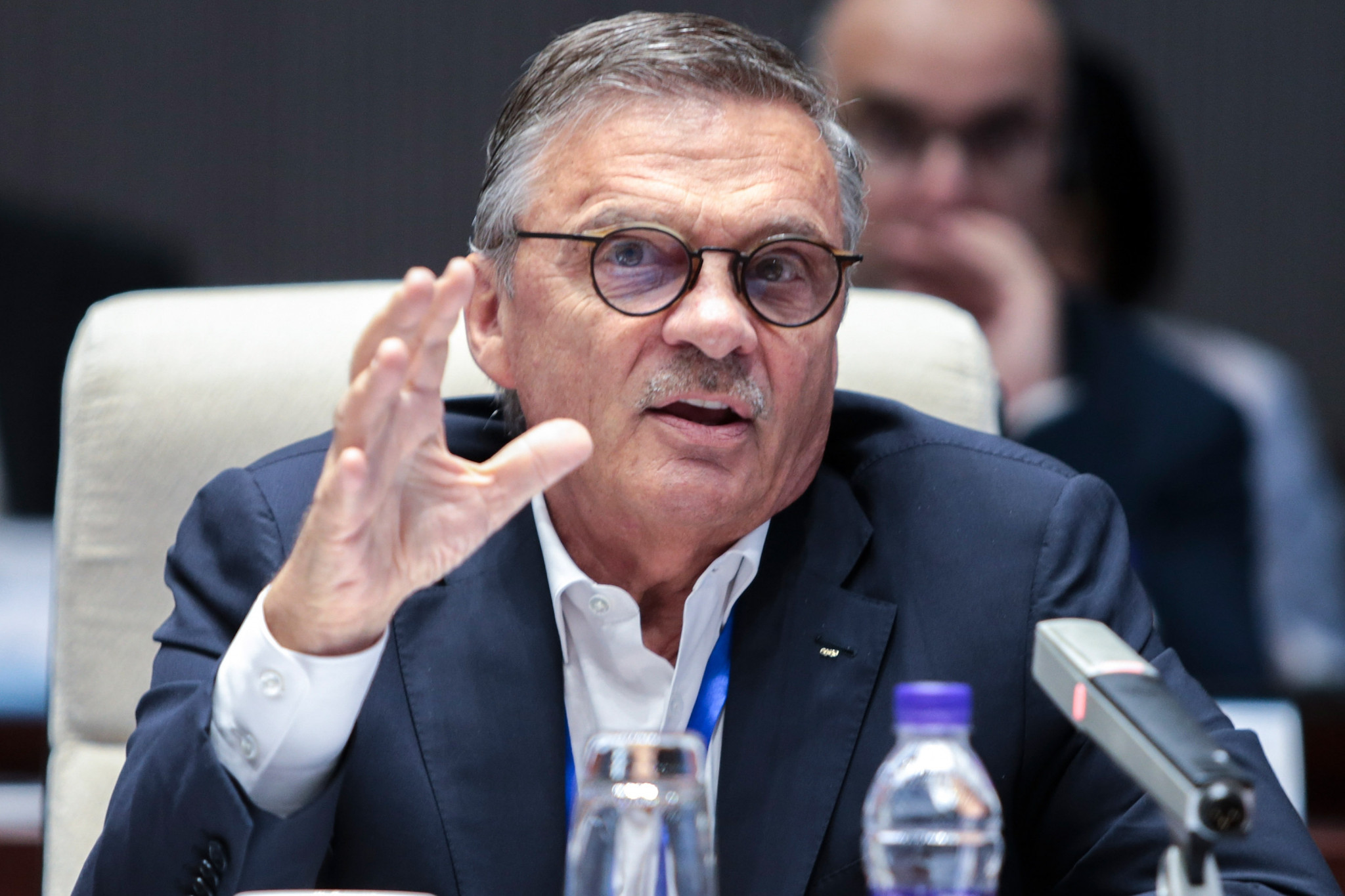 René Fasel is standing down as IIHF President, with elections for his successor set to take place at the Semi-Annual Congress in September ©Getty Images