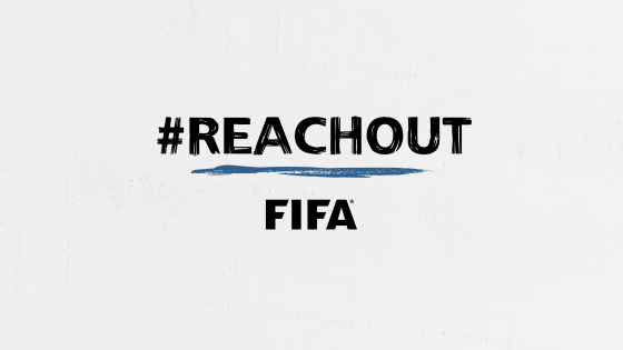 FIFA launches #ReachOut campaign to promote mental health awareness