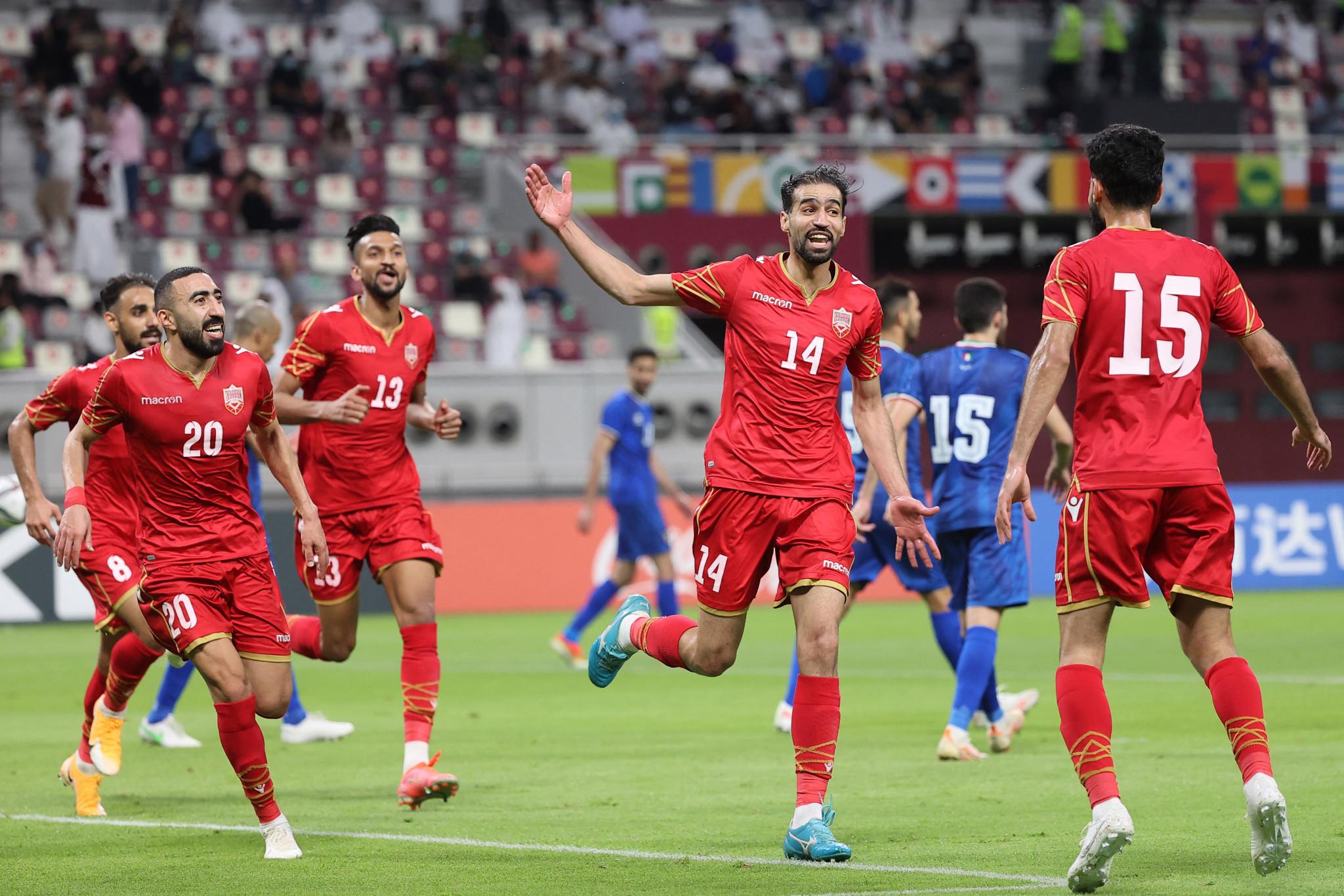 البحرين أحد المنتخبات التي تأهلت بالتأهل لكأس FIFA العربية © Getty Images