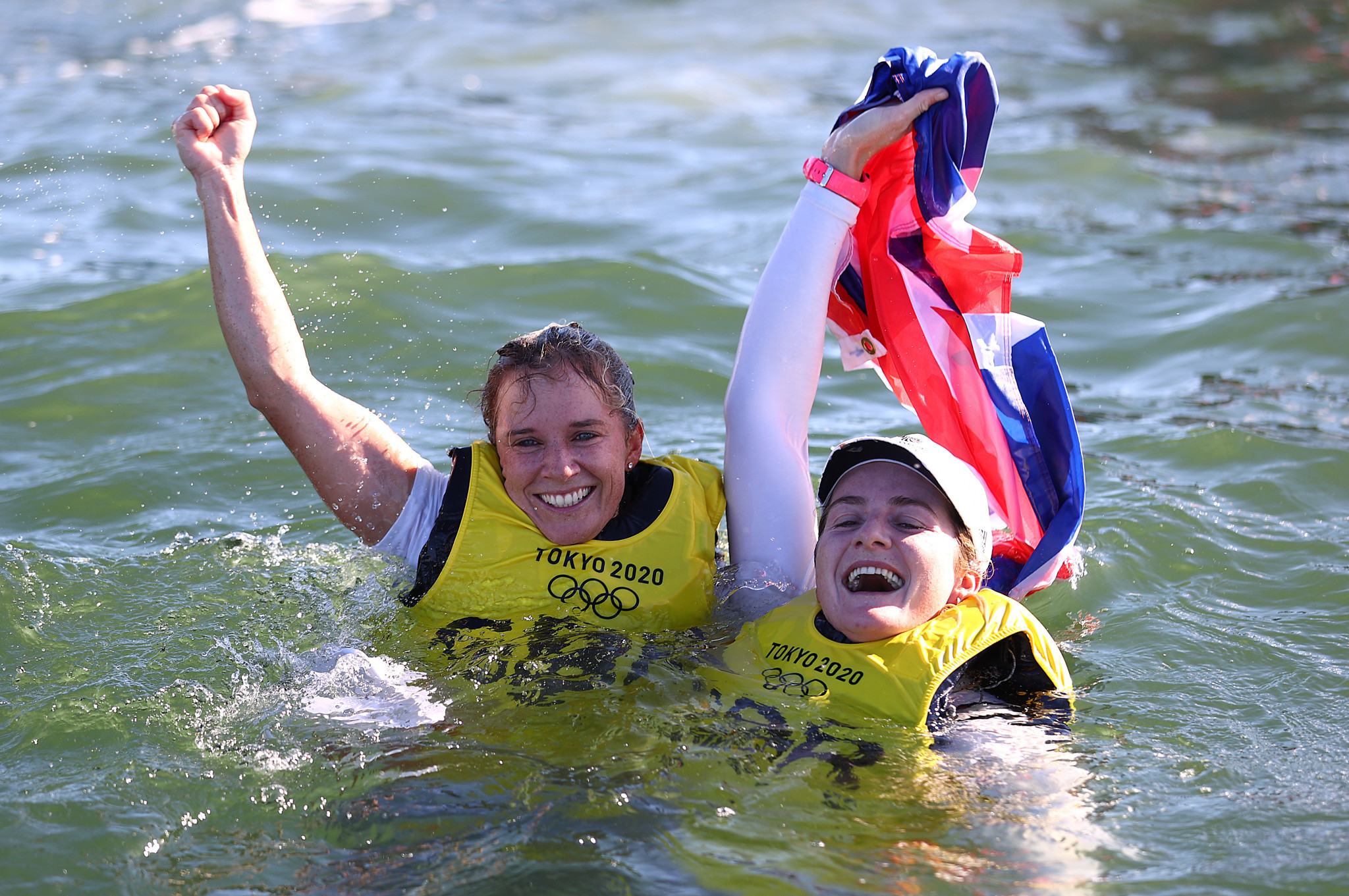 Mills becomes most successful female Olympic sailor after 470 gold