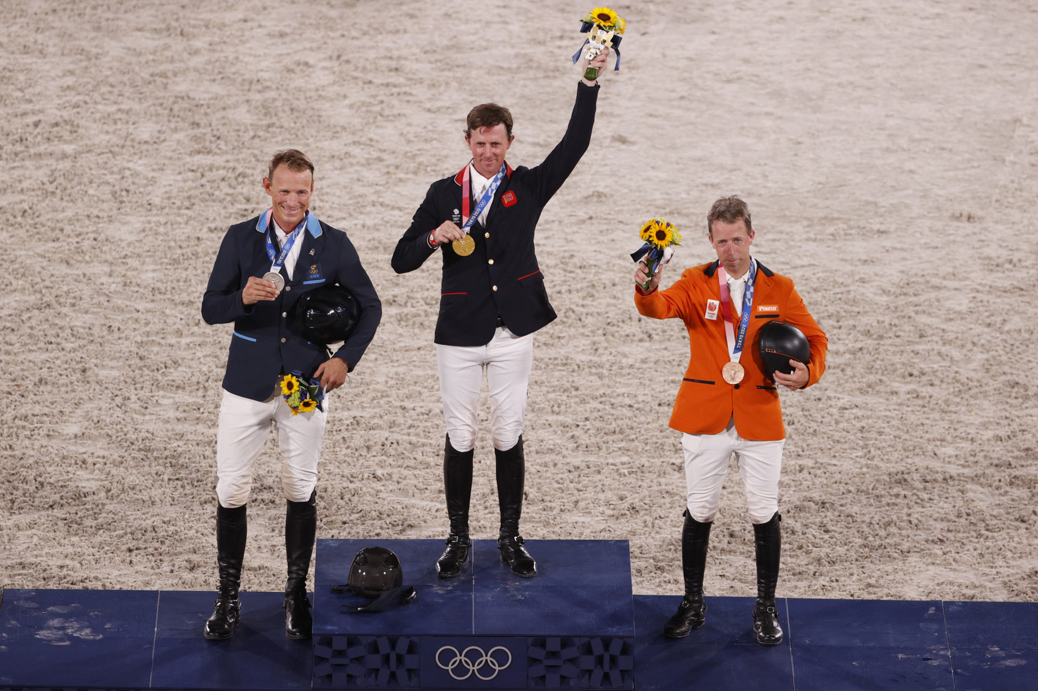 Maher wins Britain's second equestrian gold at Tokyo 2020 after jump-off joy