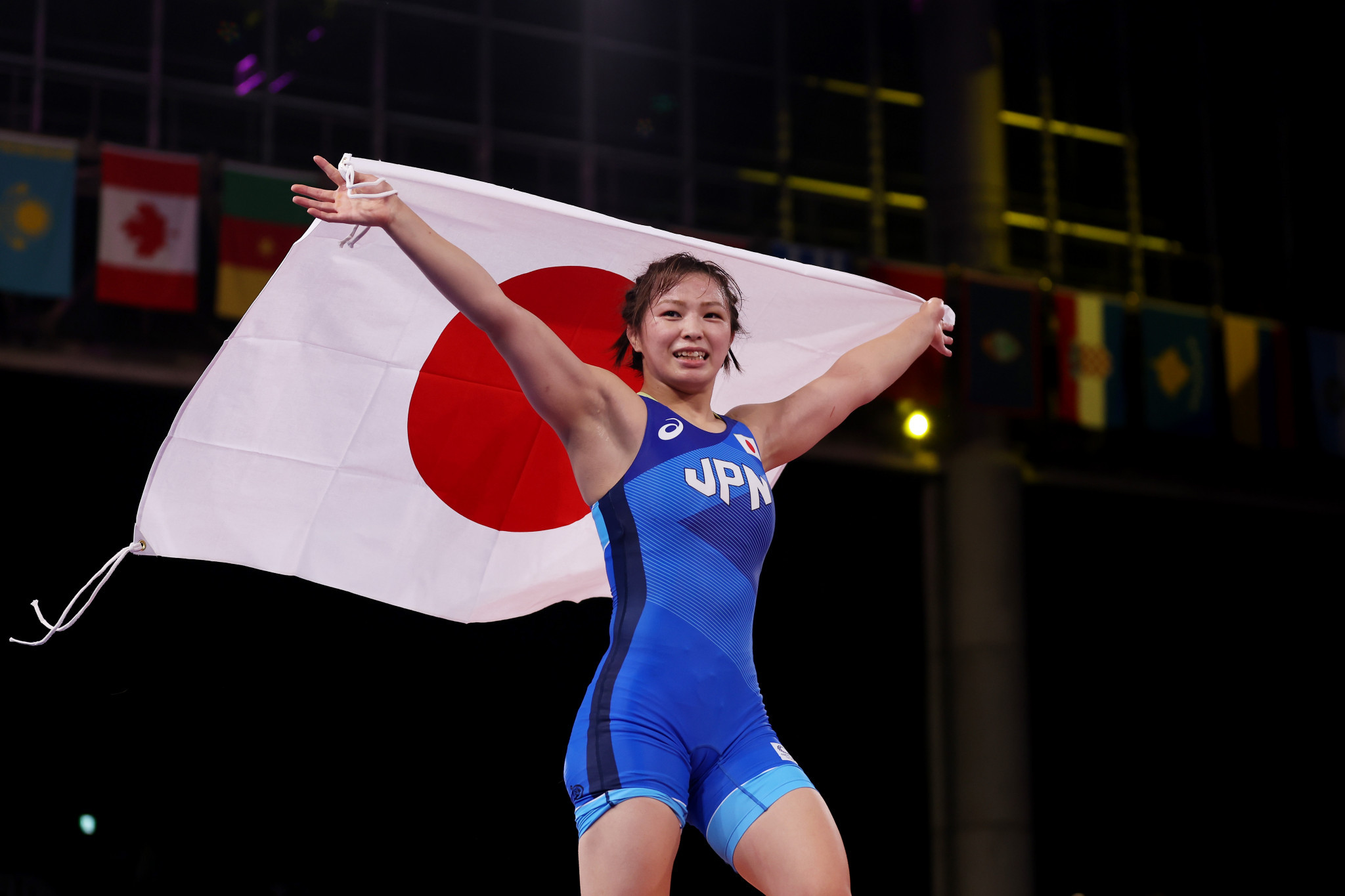 Kawai succeeds sister as Olympic champion with women's 62kg wrestling triumph