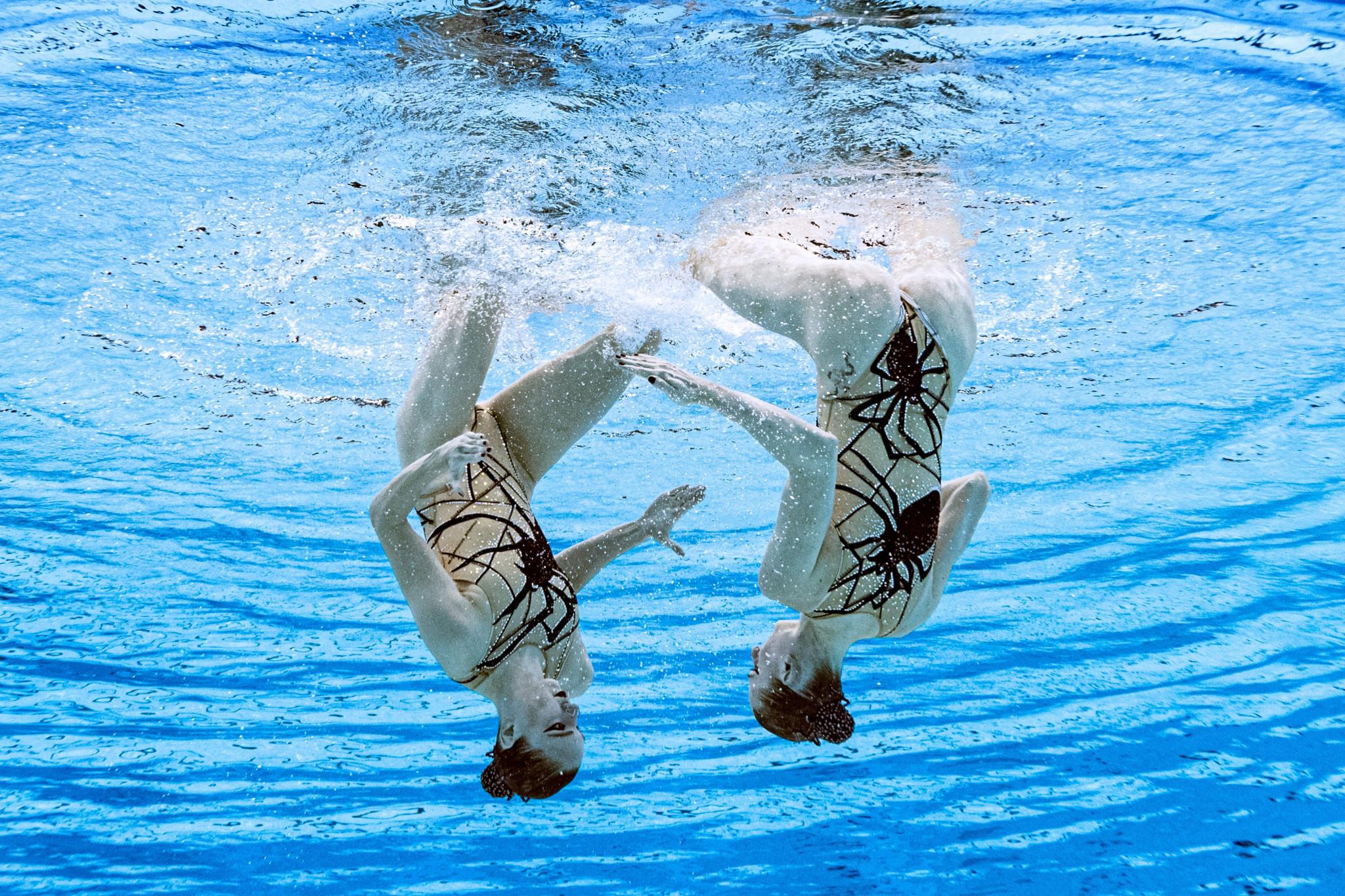 ROC artistic swimming world champions Kolesnichenko and Romashina win Tokyo 2020 duet gold