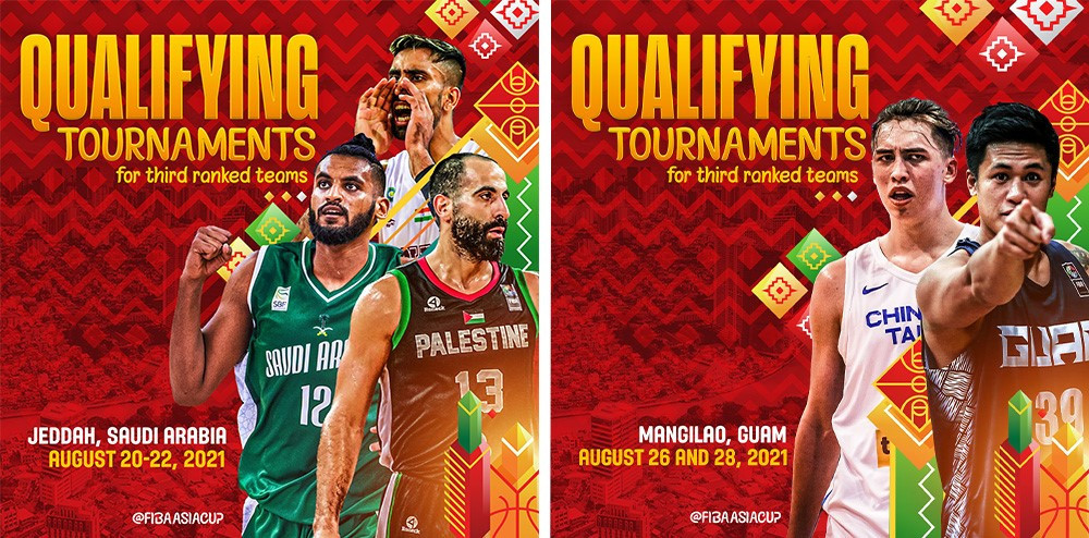 Saudi Arabia and Guam to host FIBA Asia Cup last-chance qualifiers