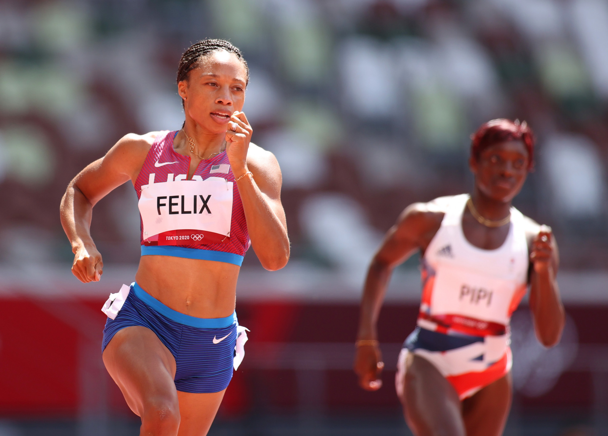 Allyson Felix was one of numerous Olympic and Paralympic champions named to the Los Angeles 2028 Athletes' Commission last month ©Getty Images