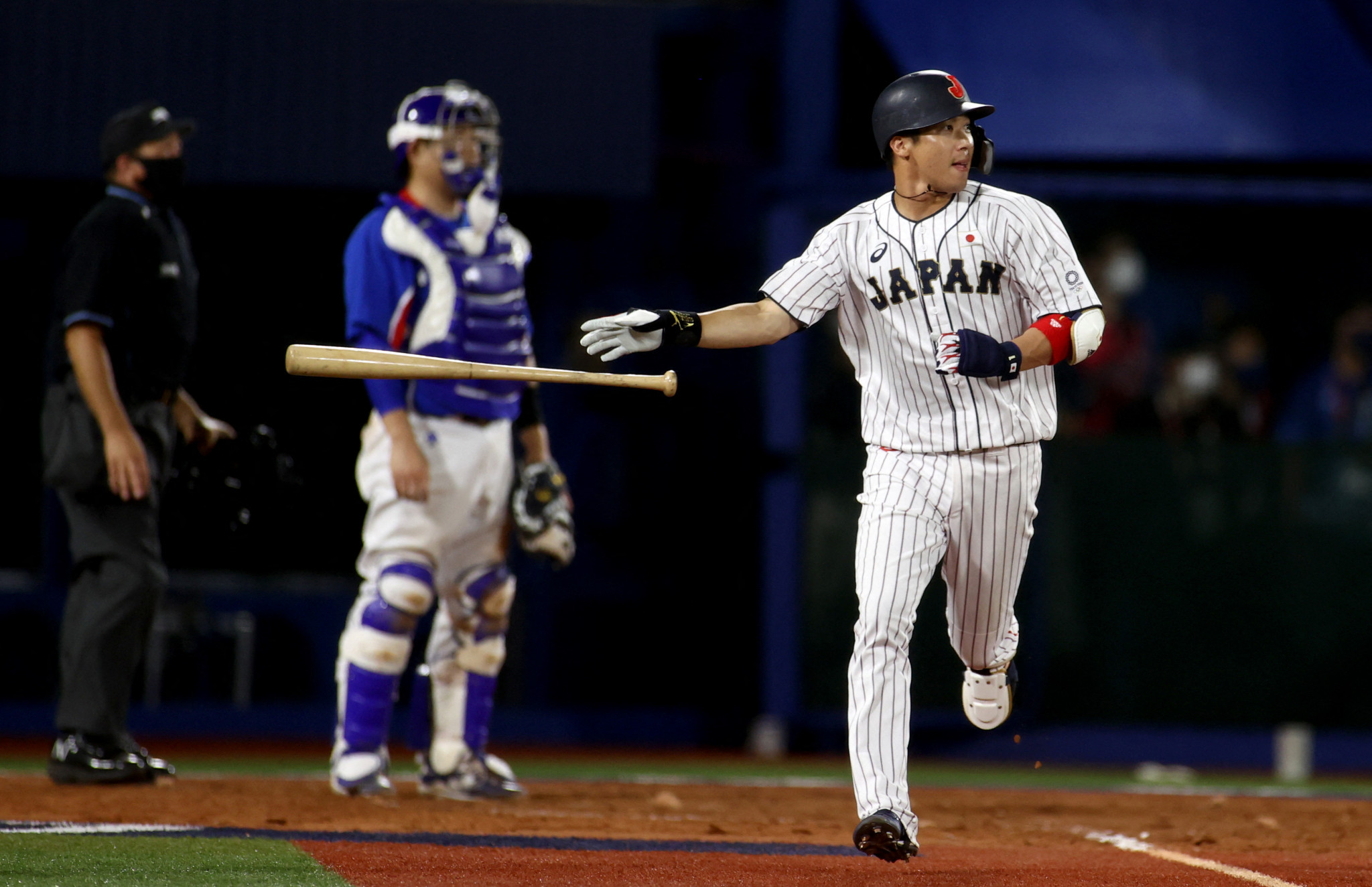 Japan's baseball side also reached a final today, seeing off South Korea thanks in large part to Tesuto Yamada's three runs batted in ©Getty Images