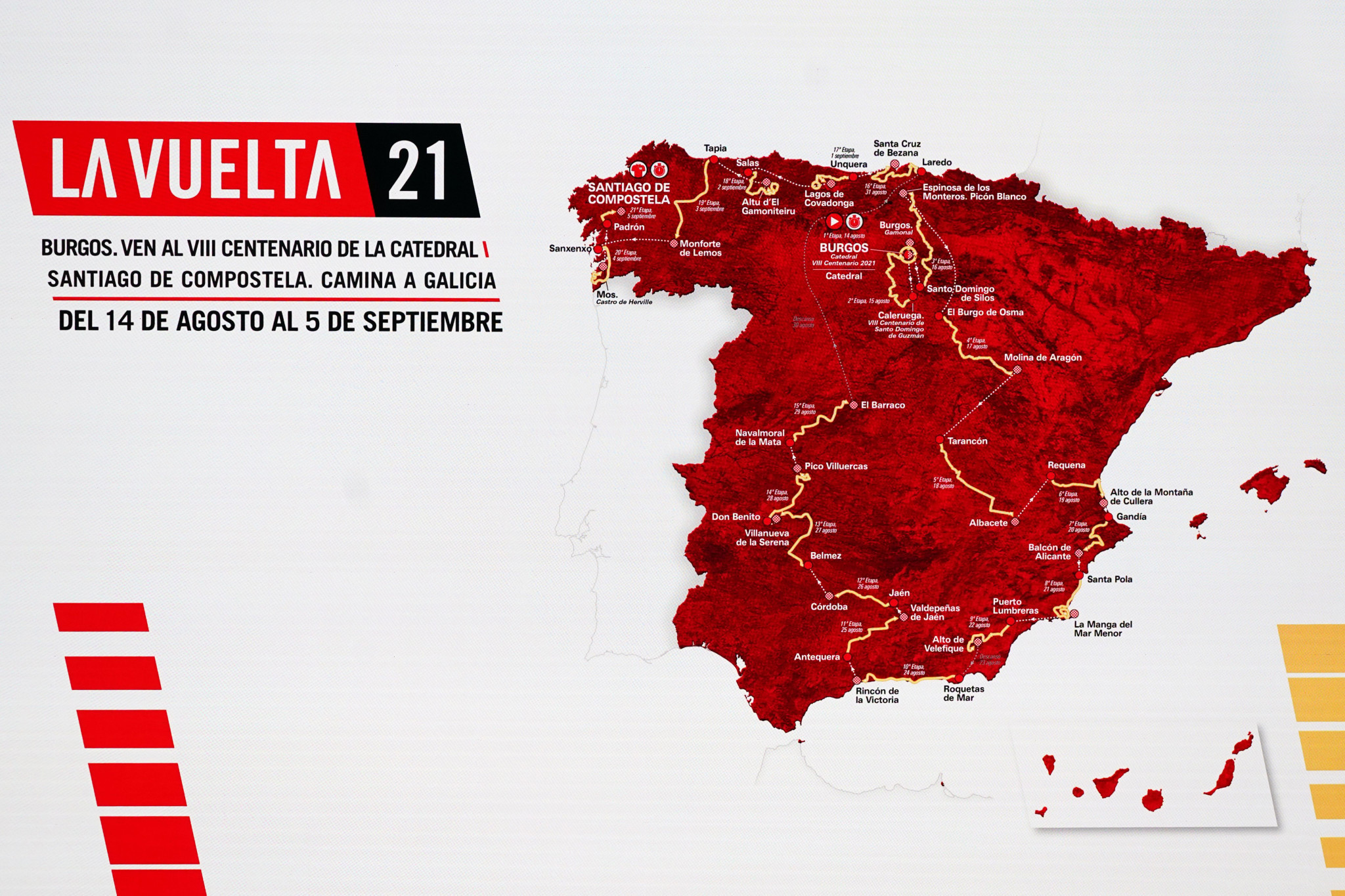 Five stages of the Vuelta a España can be done virtually at the same time as part of La Vuelta Virtual © Getty Images