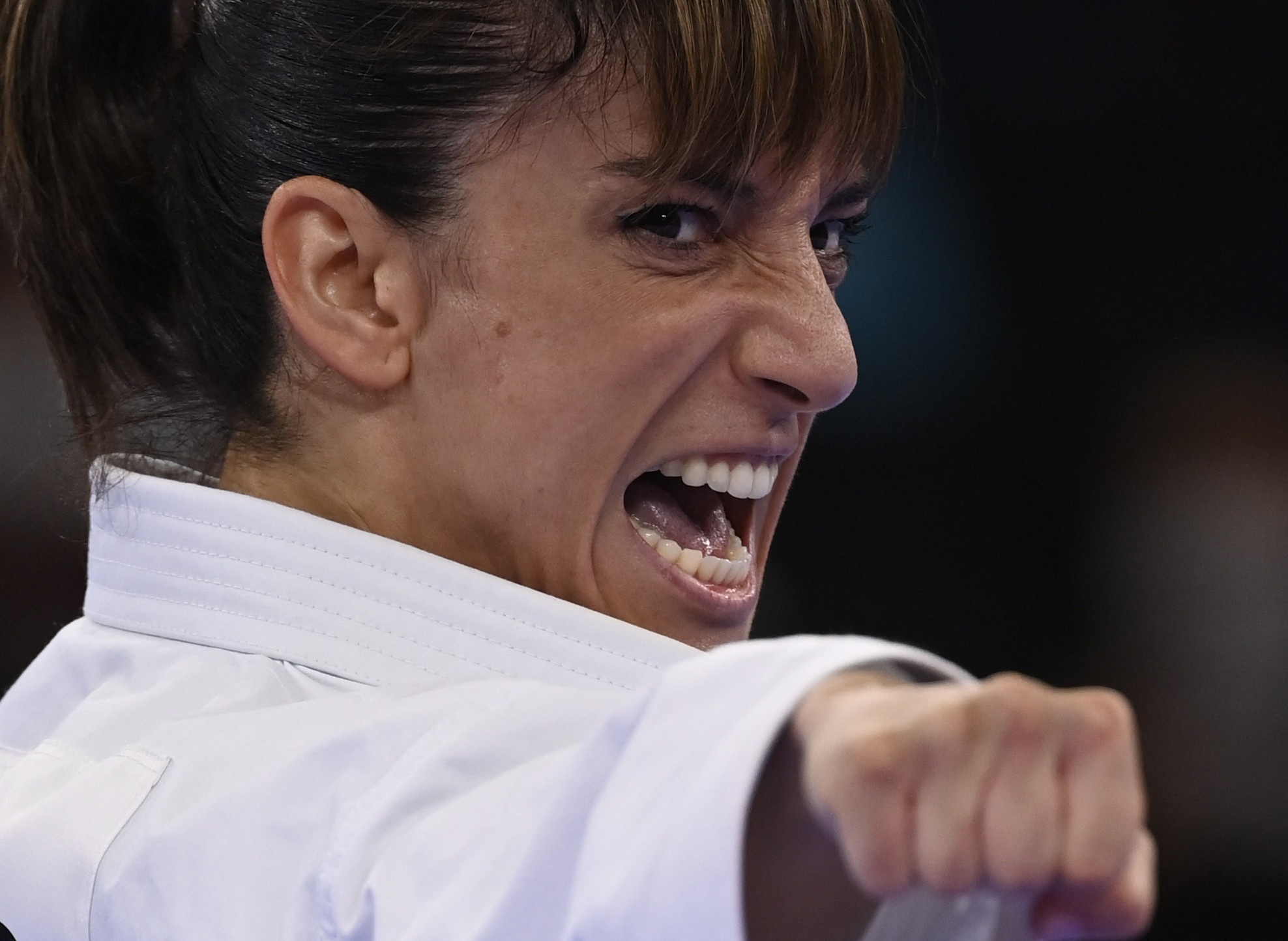 Sandra Sánchez was crowned as the first Olympic champion in karate ©Getty Images