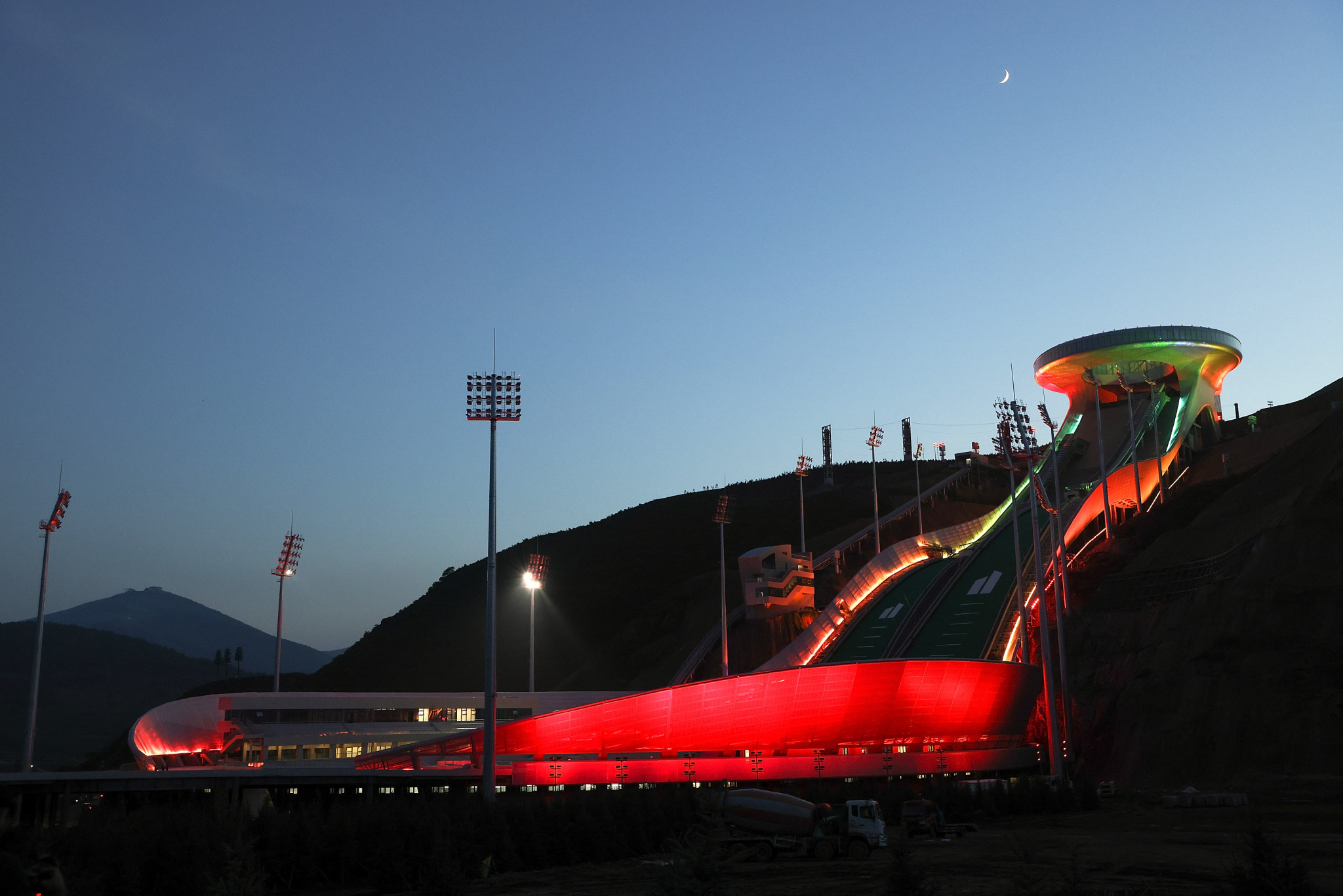 All venues for Beijing 2022 to be completed and tested by end of year, organisers insist