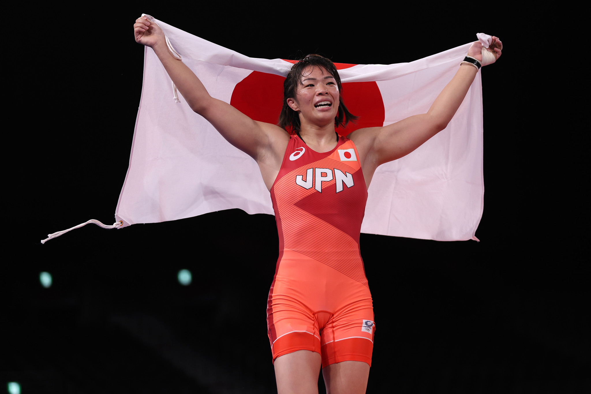 Risako Kawai is an Olympic champion for he second Games in a row ©Getty Images