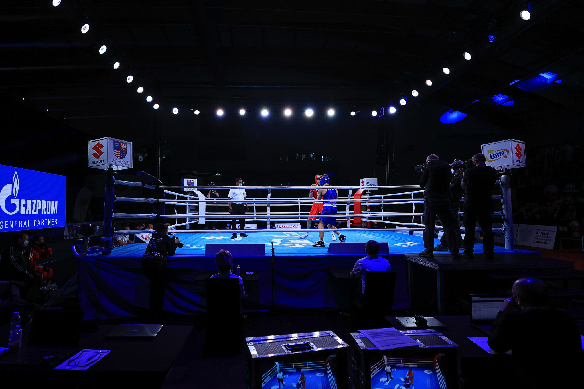 A new scoring system was used at the 2021 Youth World Boxing Championships in Poland ©AIBA