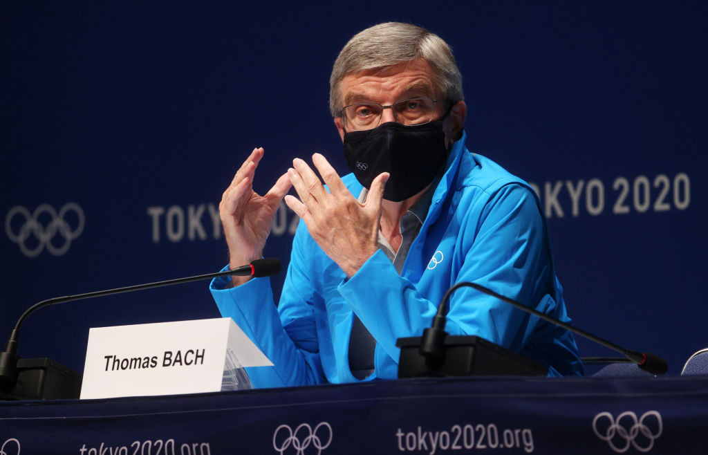 """Bach claims Tsimanouskaya case is """"deplorable"""" after Belarus officials sent home from Tokyo 2020"""