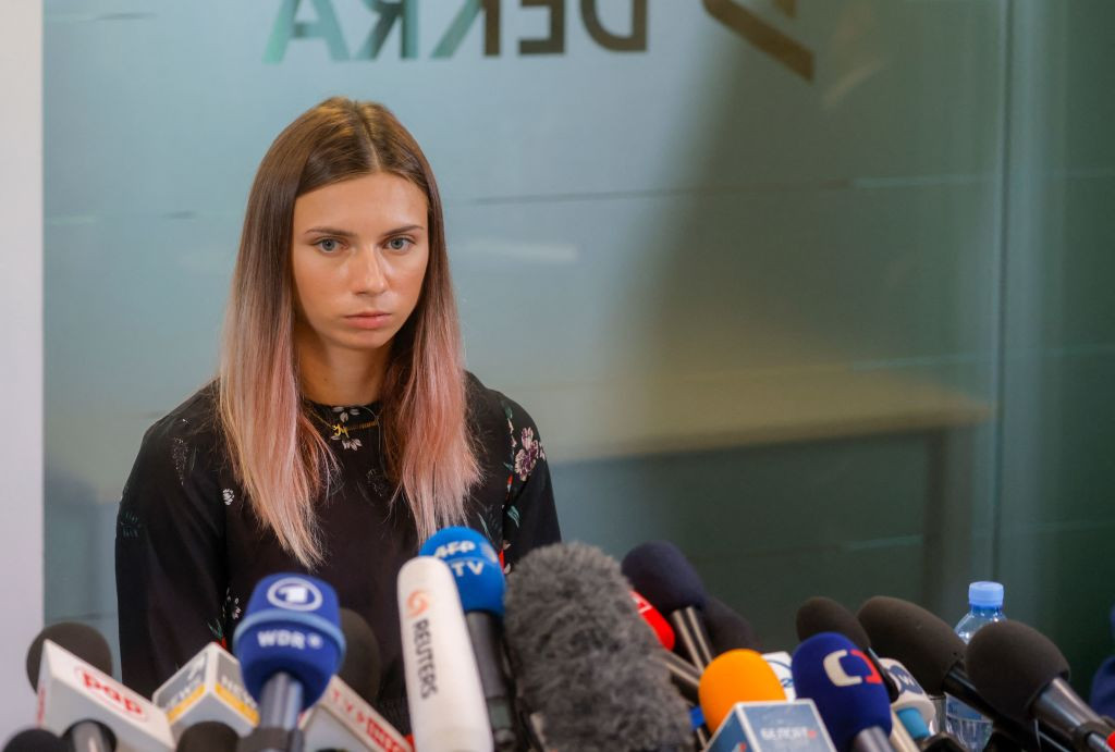 Krystsina Tsimanouskaya said the order to send her home had come from