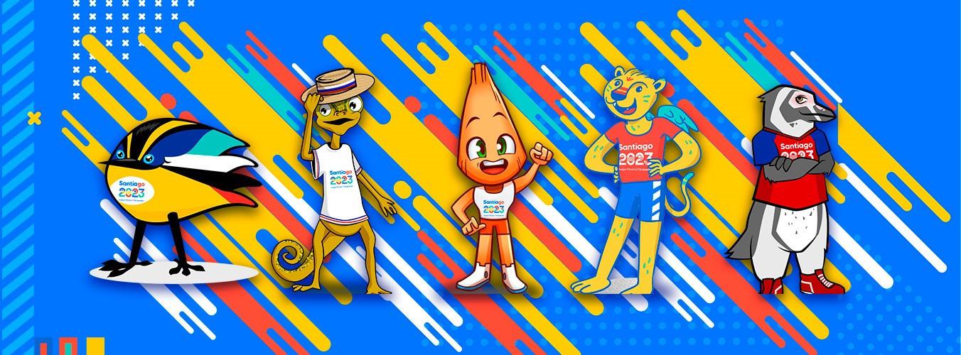 Santiago 2023 launches a public vote to help choose official mascot