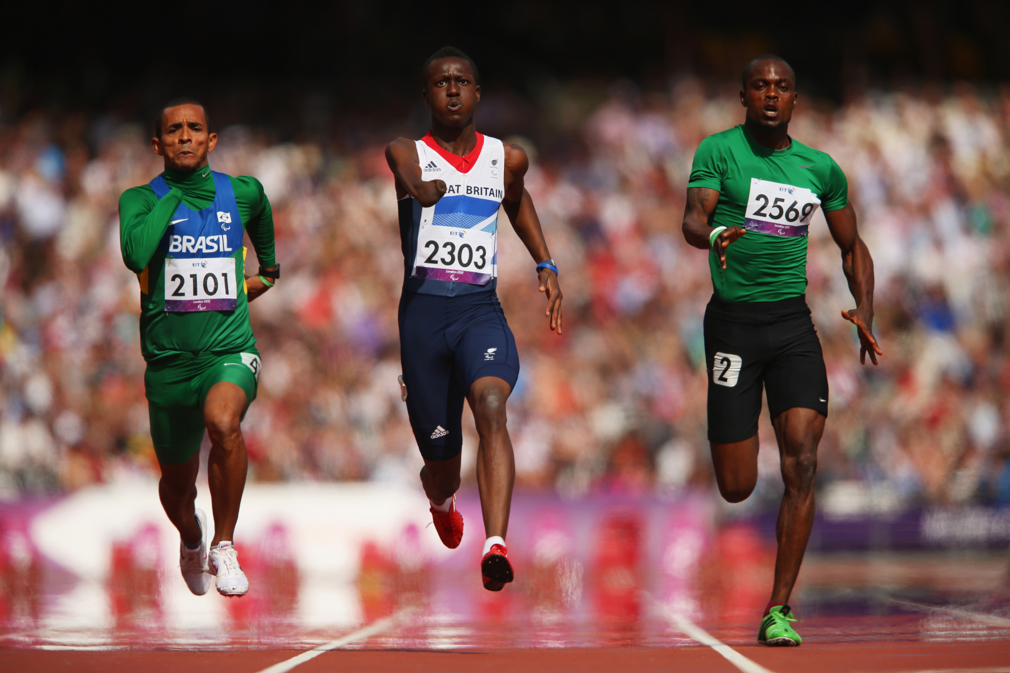 Three athletes added to British athletics squad for Tokyo 2020 Paralympic Games