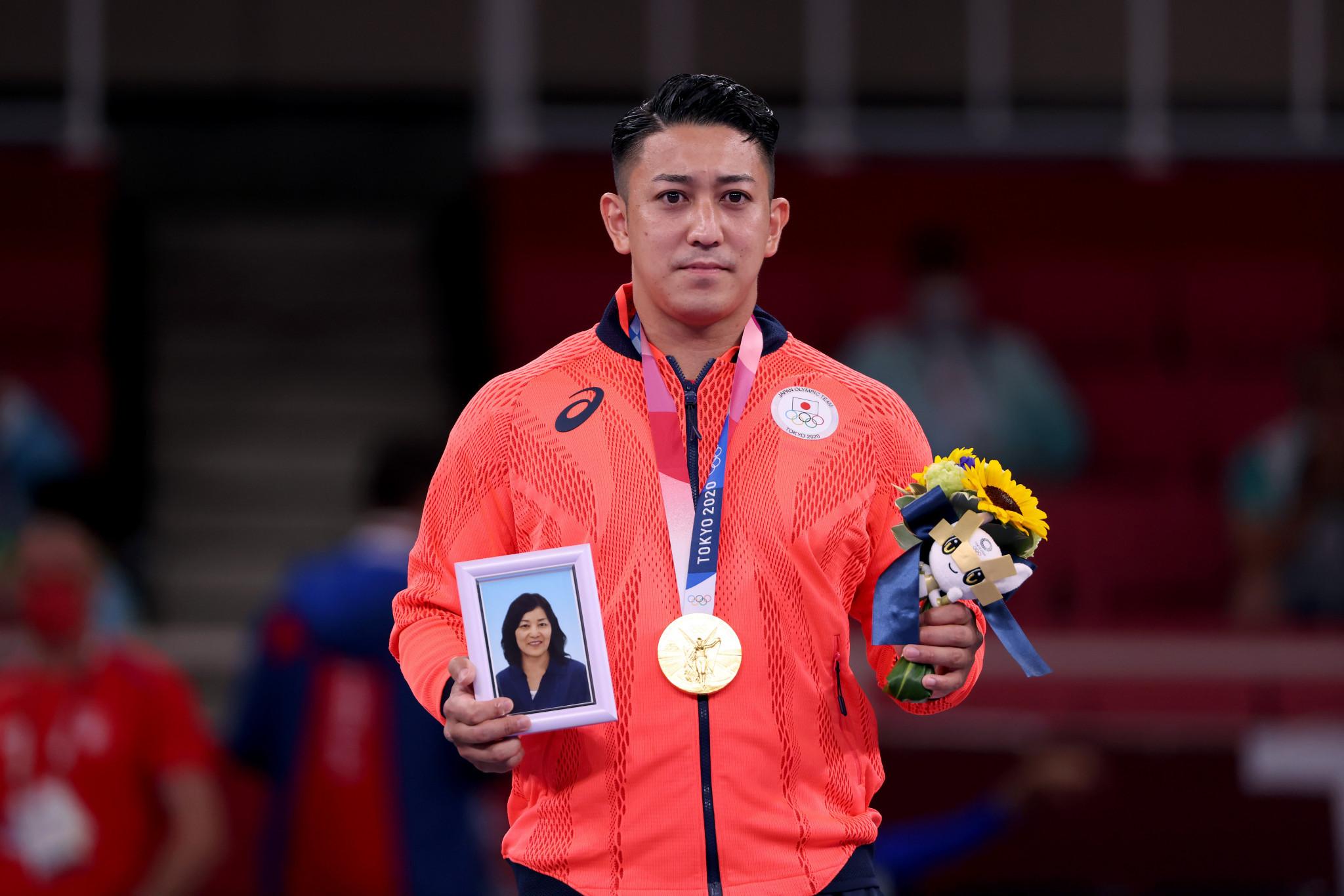 World champion Kiyuna wins first men's Olympic kata title