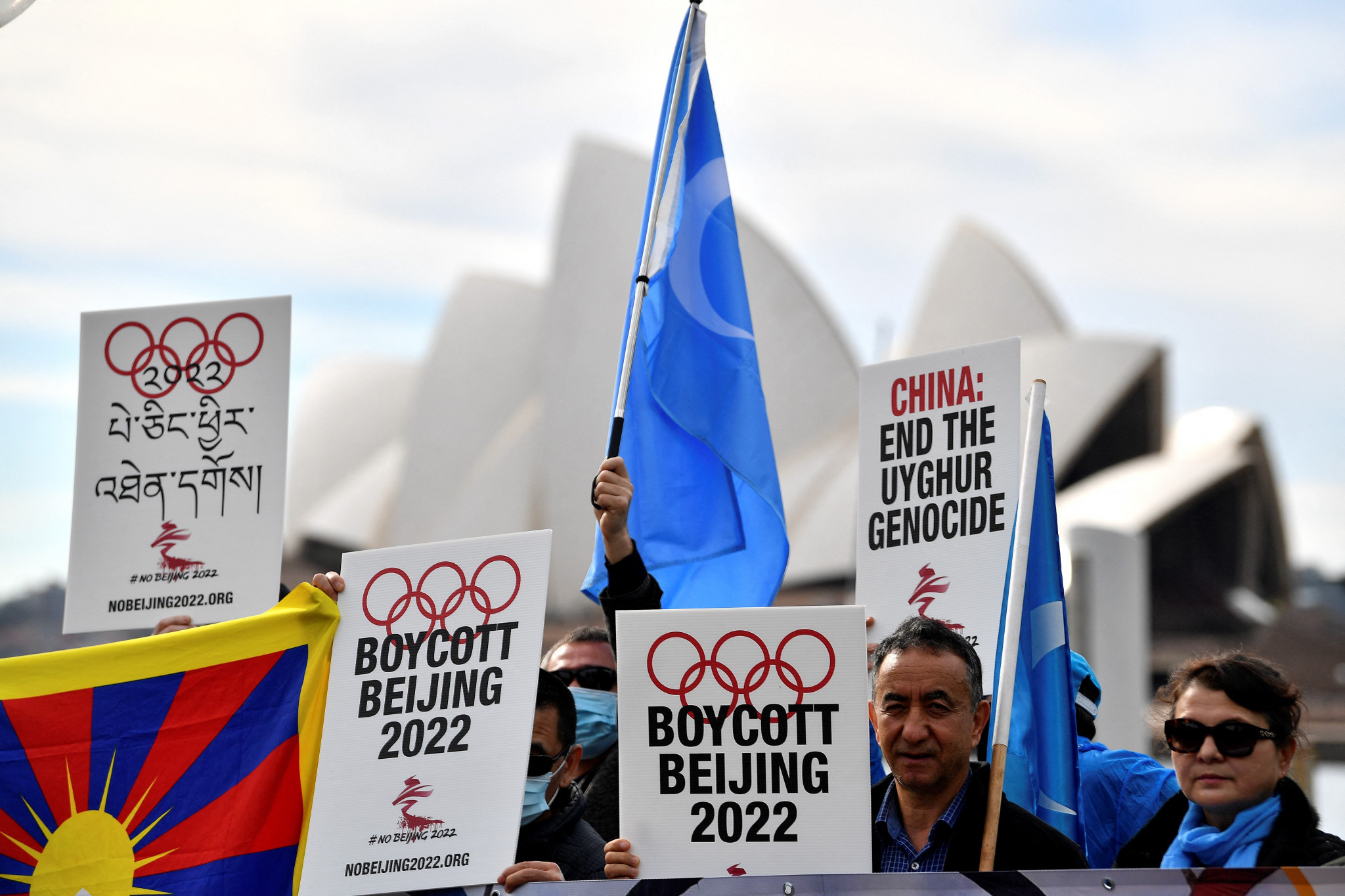 Calls are being made for the country to boycott the Beijing 2022 Winter Olympics over human rights concerns © Getty Images