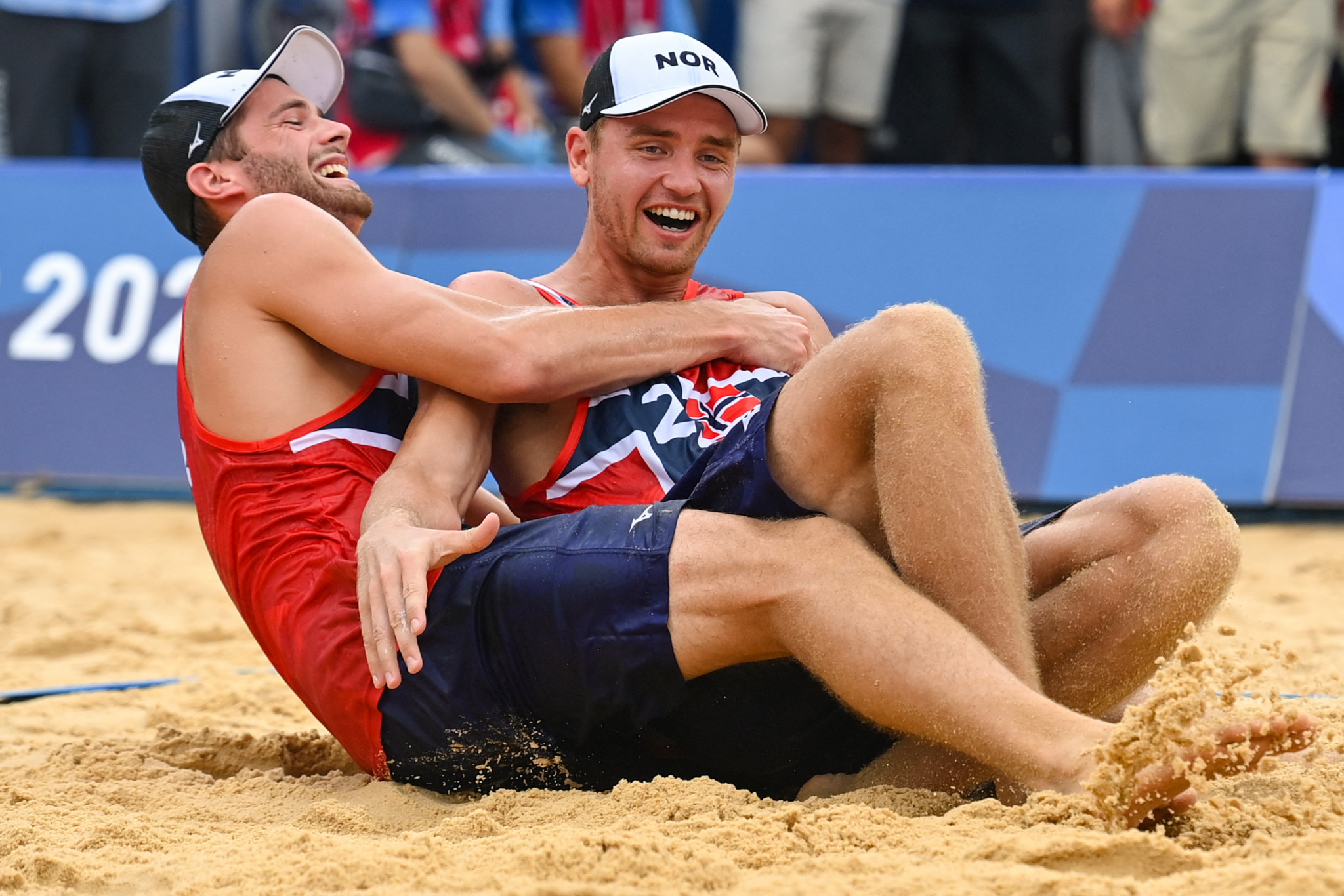 Mol and Sørum defeat ROC pair to win men's beach volleyball gold