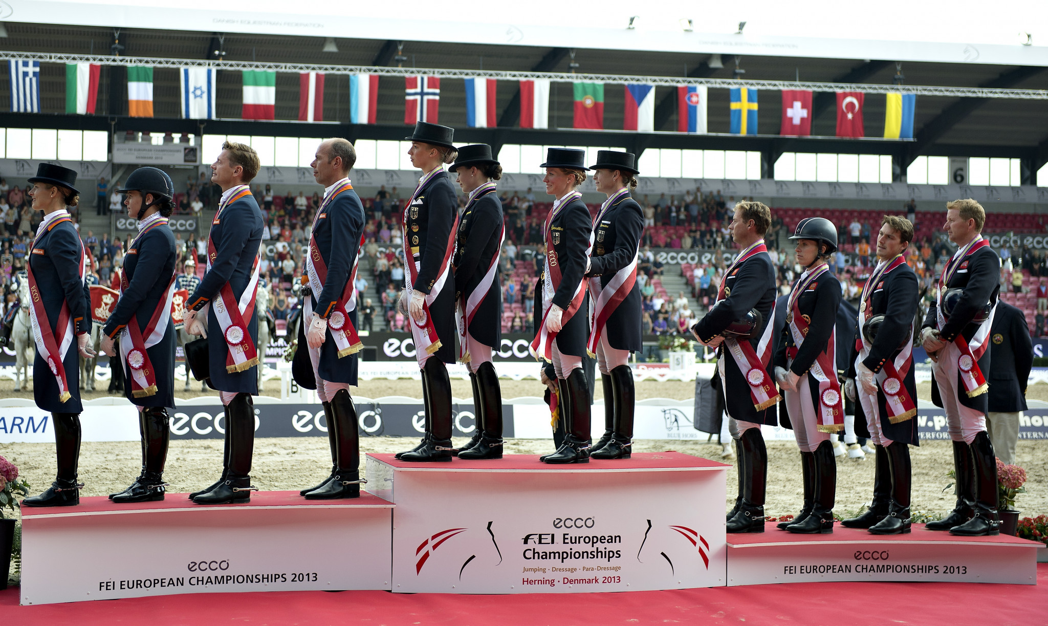Herning has previously hosted the 2013 FEI European Championships in dressage, jumping and Para dressage ©Getty Images