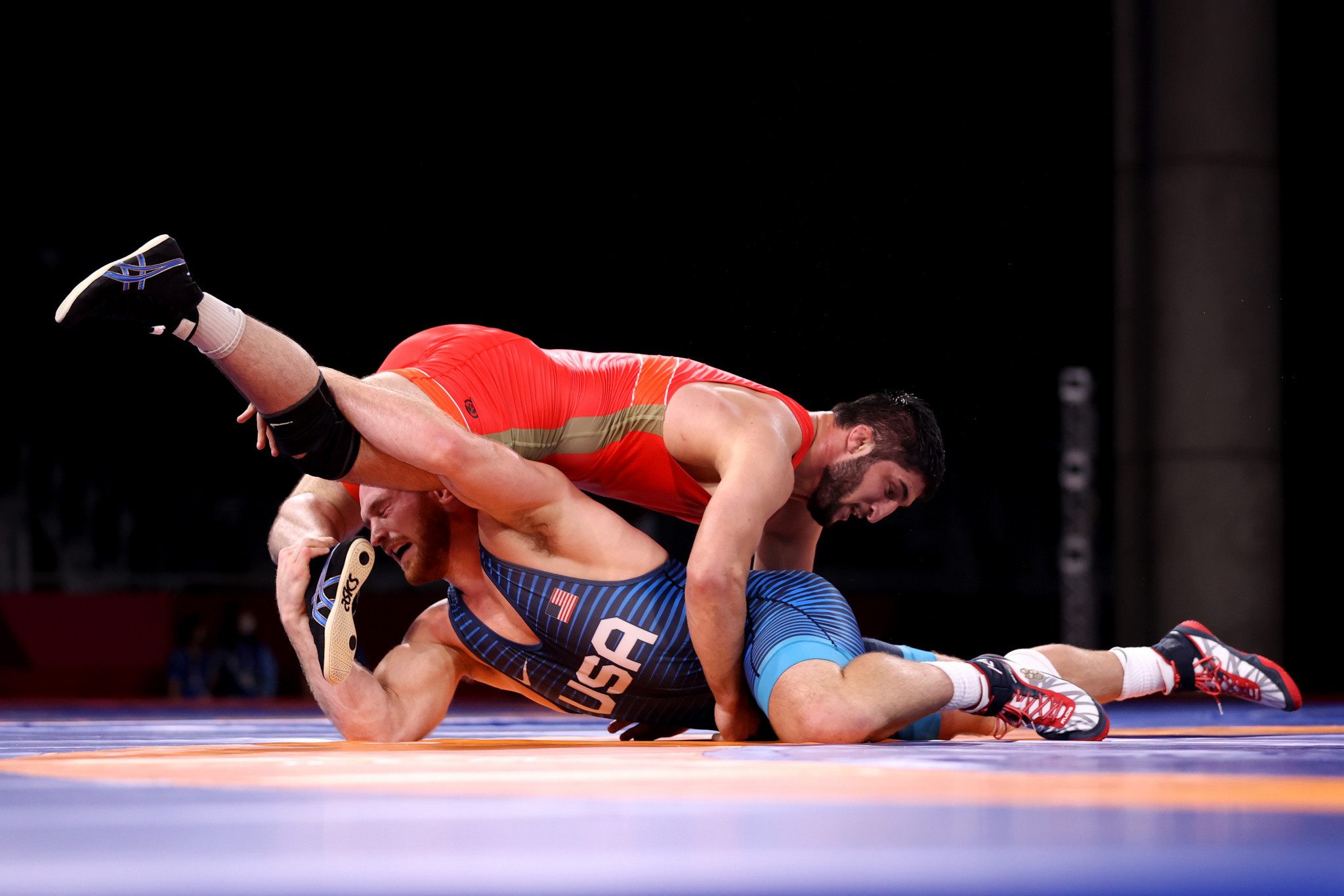 Sadulaev beat American Kyle Frederick Snyder 6-3 in the final of the Tokyo 2020 Olympics ©Getty Images