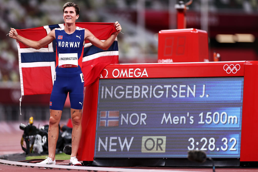 Ingebrigtsen embraces Olympic destiny as Hassan wins 10,000m battle with Gidey
