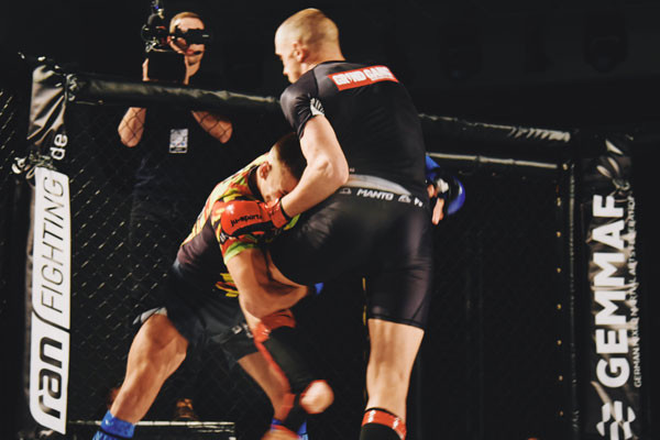 Anna Gaul and Sigauri brothers triumph at Central German Mixed Martial Arts Championships