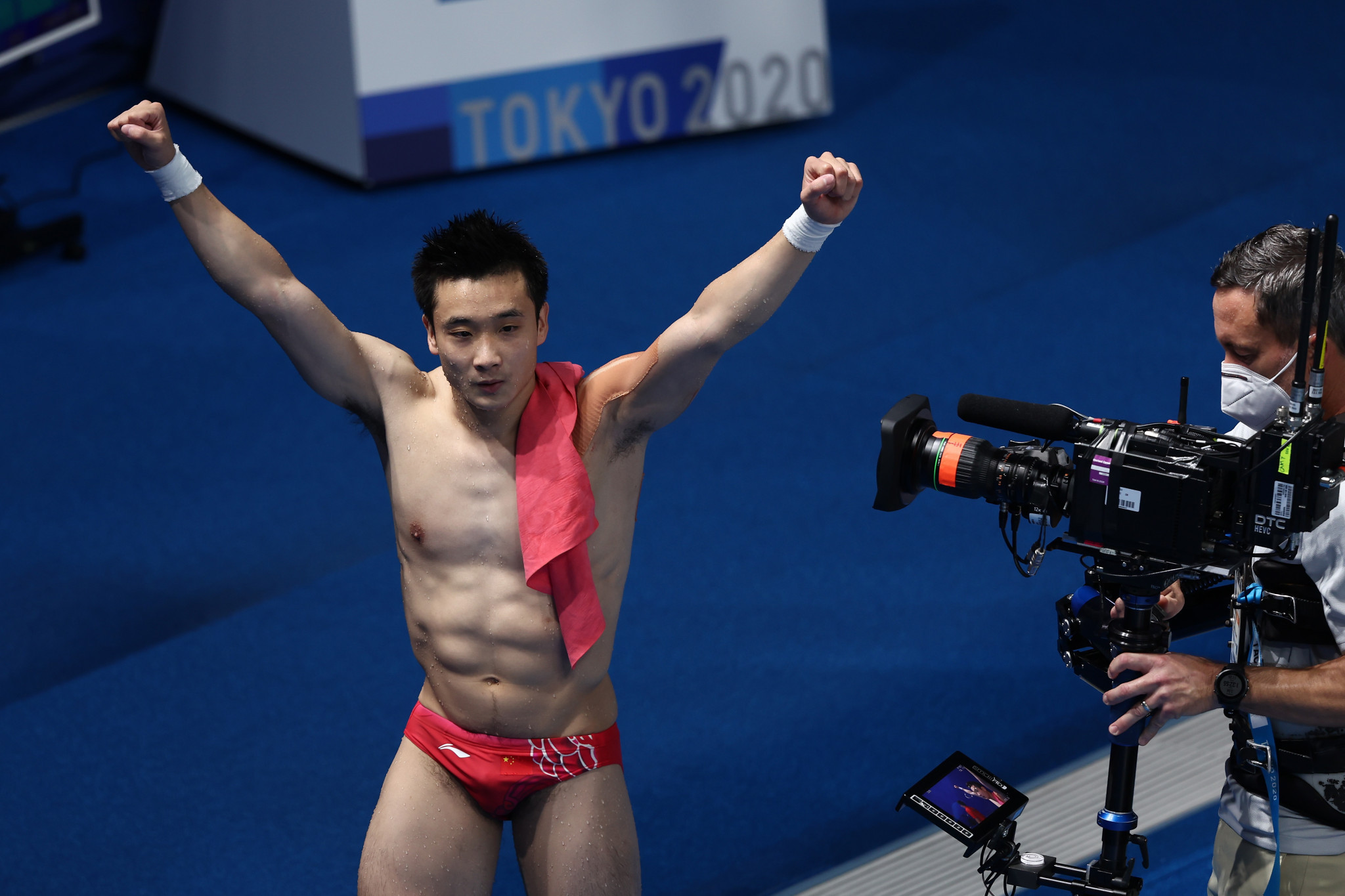 Cao Yuan bags 10m platform gold as China pull off near-perfect diving showing at Tokyo 2020