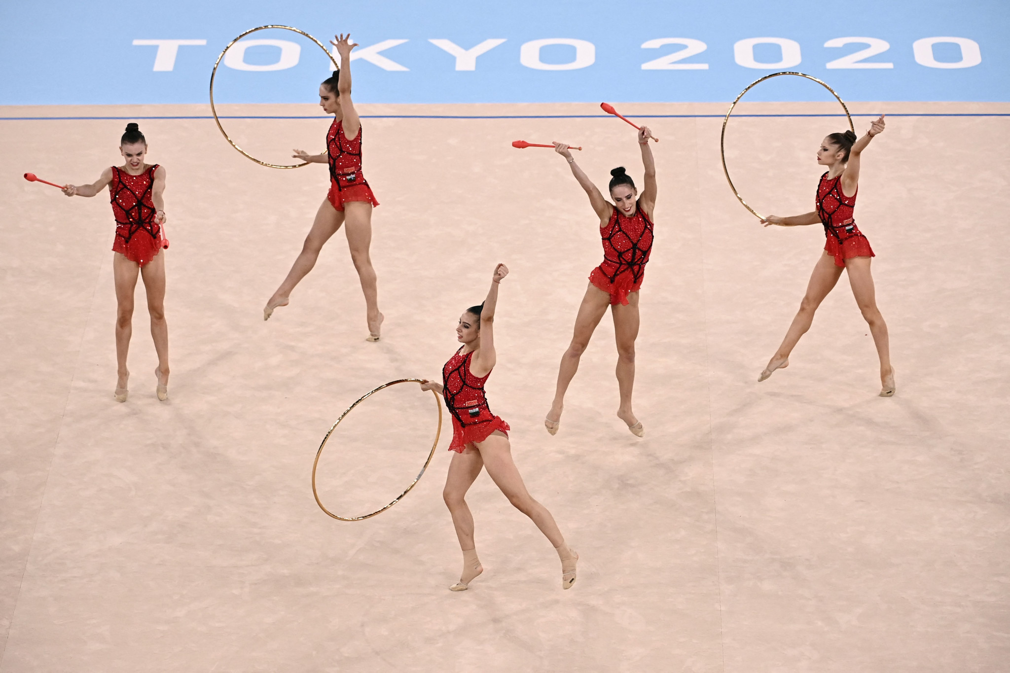 Bulgaria were awarded the best marks for both disciplines ©Getty Images
