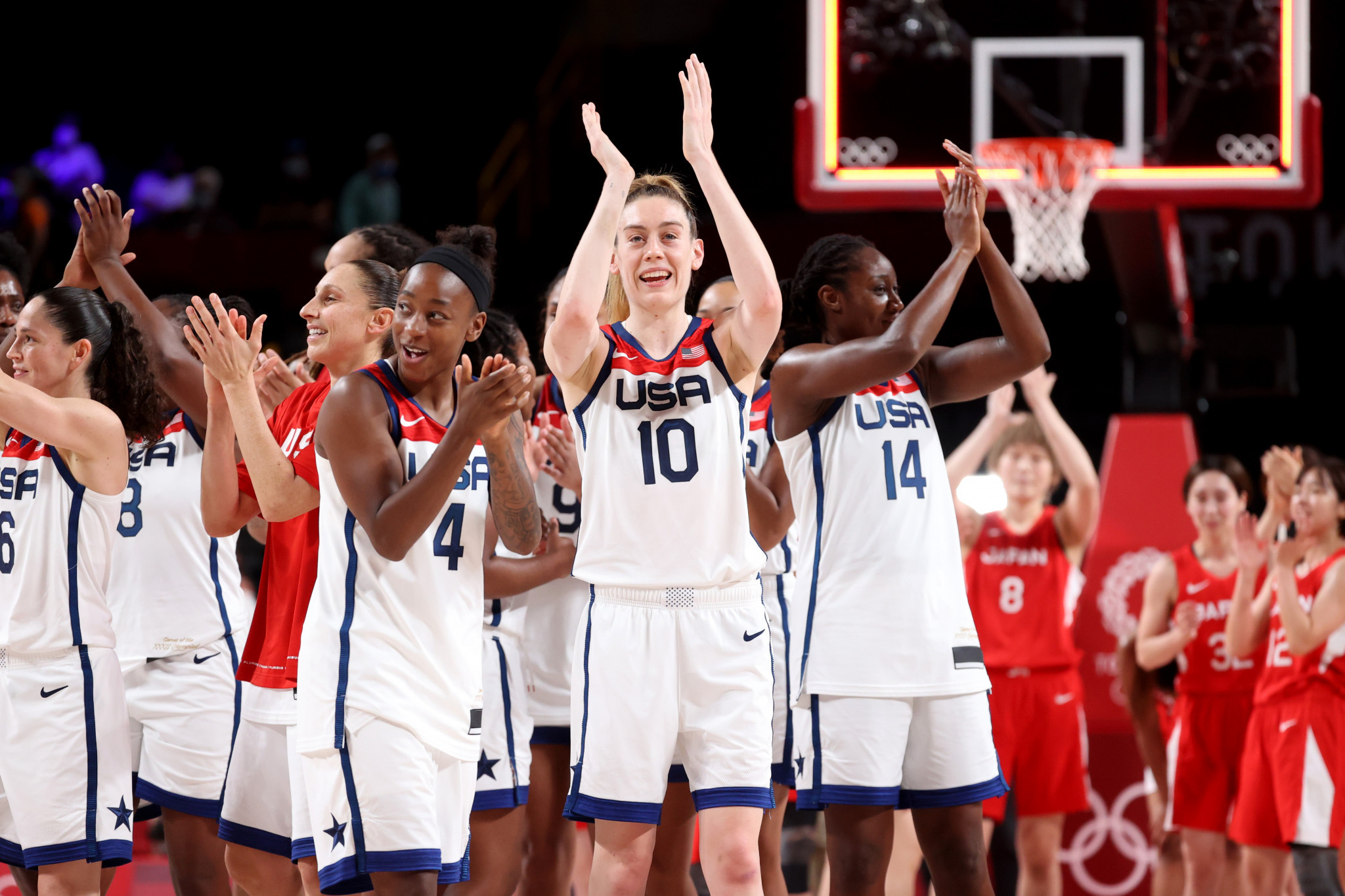 United States claim seventh successive Olympic women's basketball gold