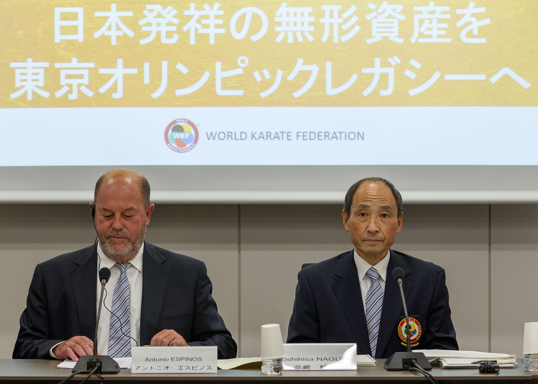 """WKF President Espinos says Olympics """"needs karate"""" after Tokyo 2020 debut"""