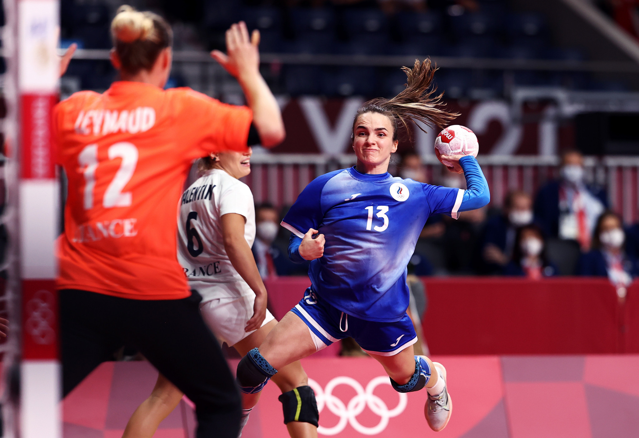 Right back Anna Vyakhireva was named the Most Valuable Player of the Tokyo 2020 Olympics ©Getty Images