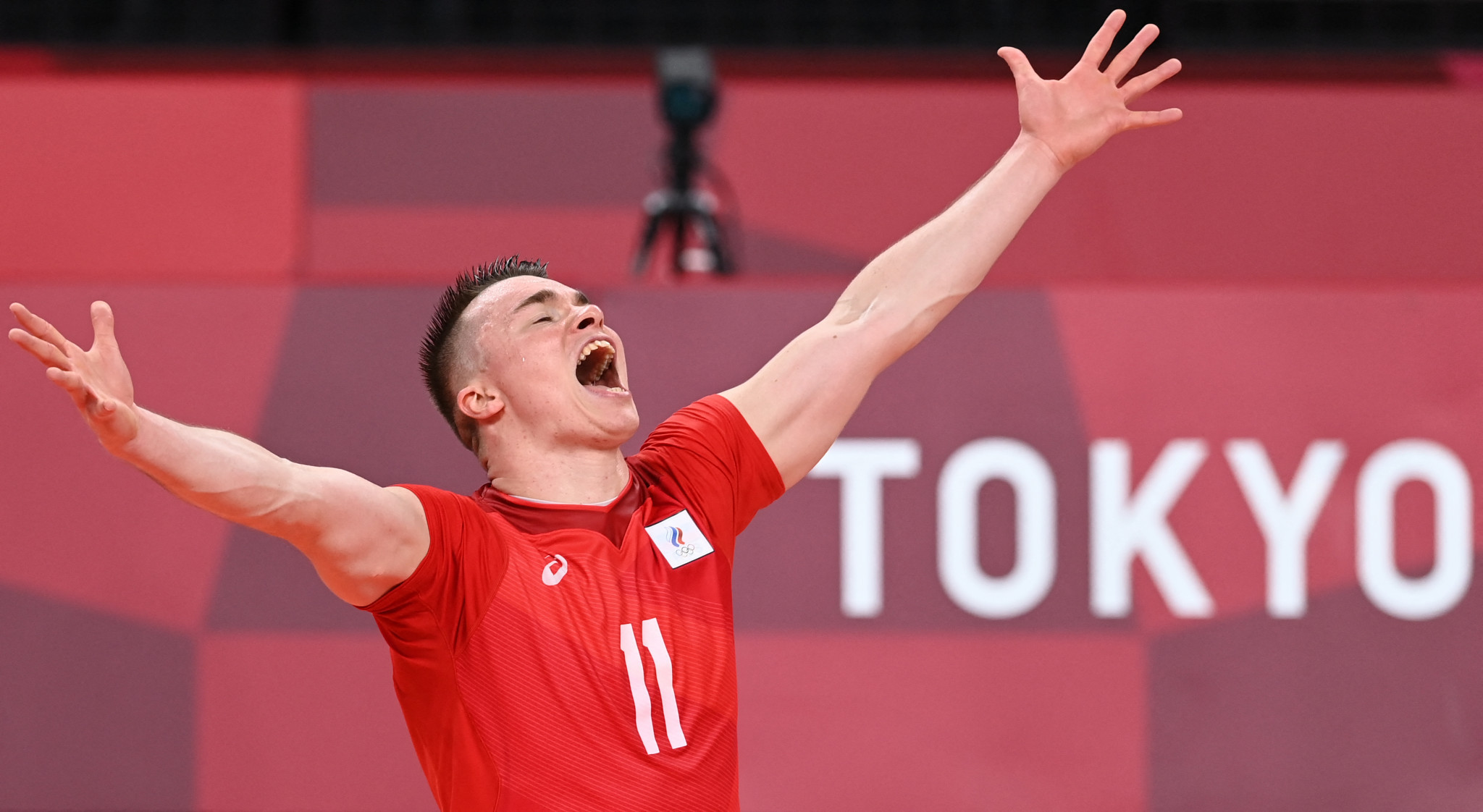 For Pavel Pankov, volleyball runs in the family as his mother, Marina Pankova, is an Olympic champion from Seoul 1988 ©Getty Images