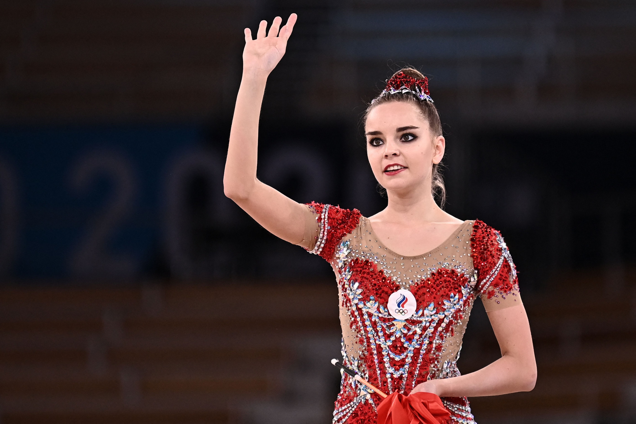 Dina Averina had to settle for a surprise silver medal ©Getty Images