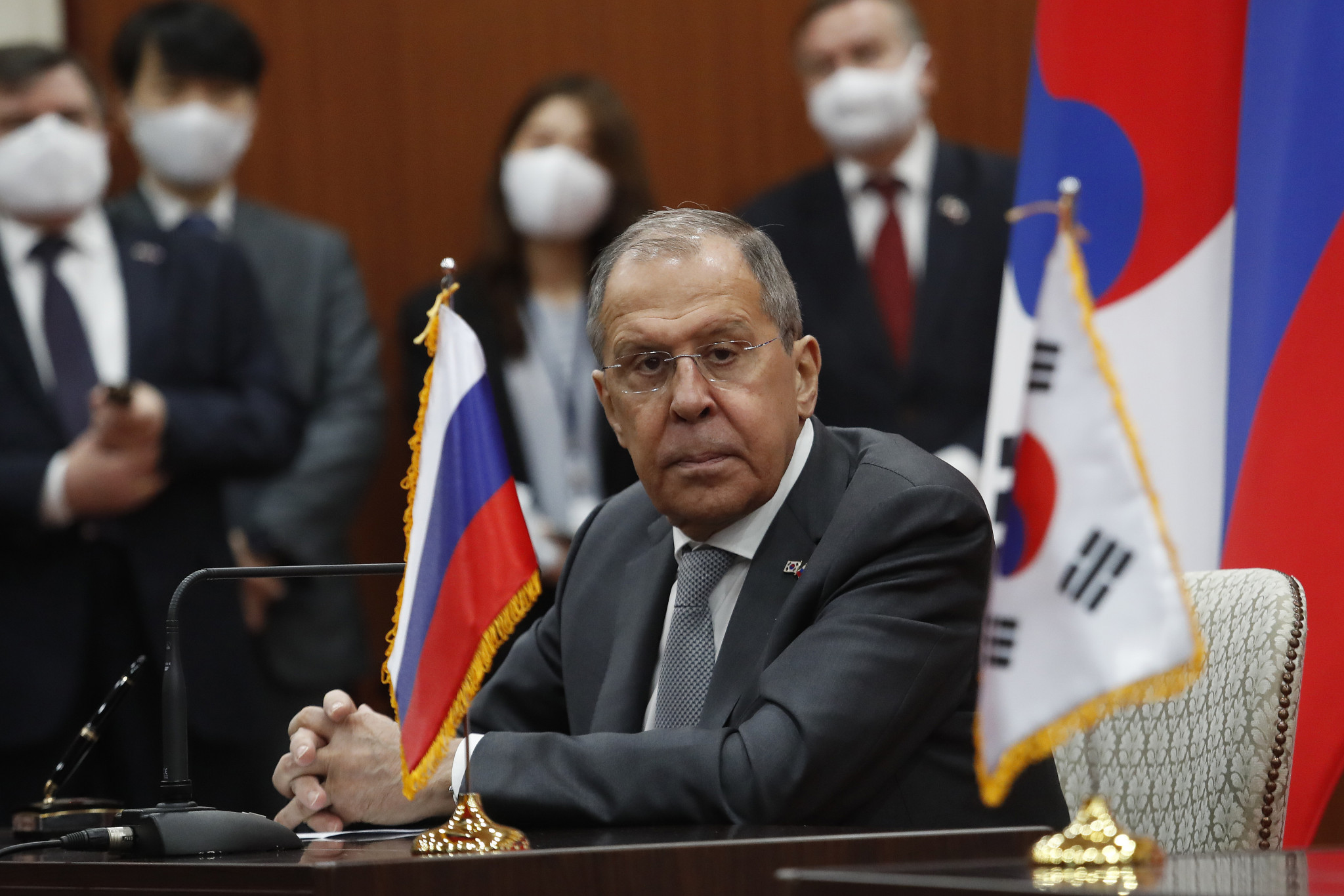 """Russian Foreign Minister Lavrov slams Olympic officiating and ROC """"ill-wishers"""""""