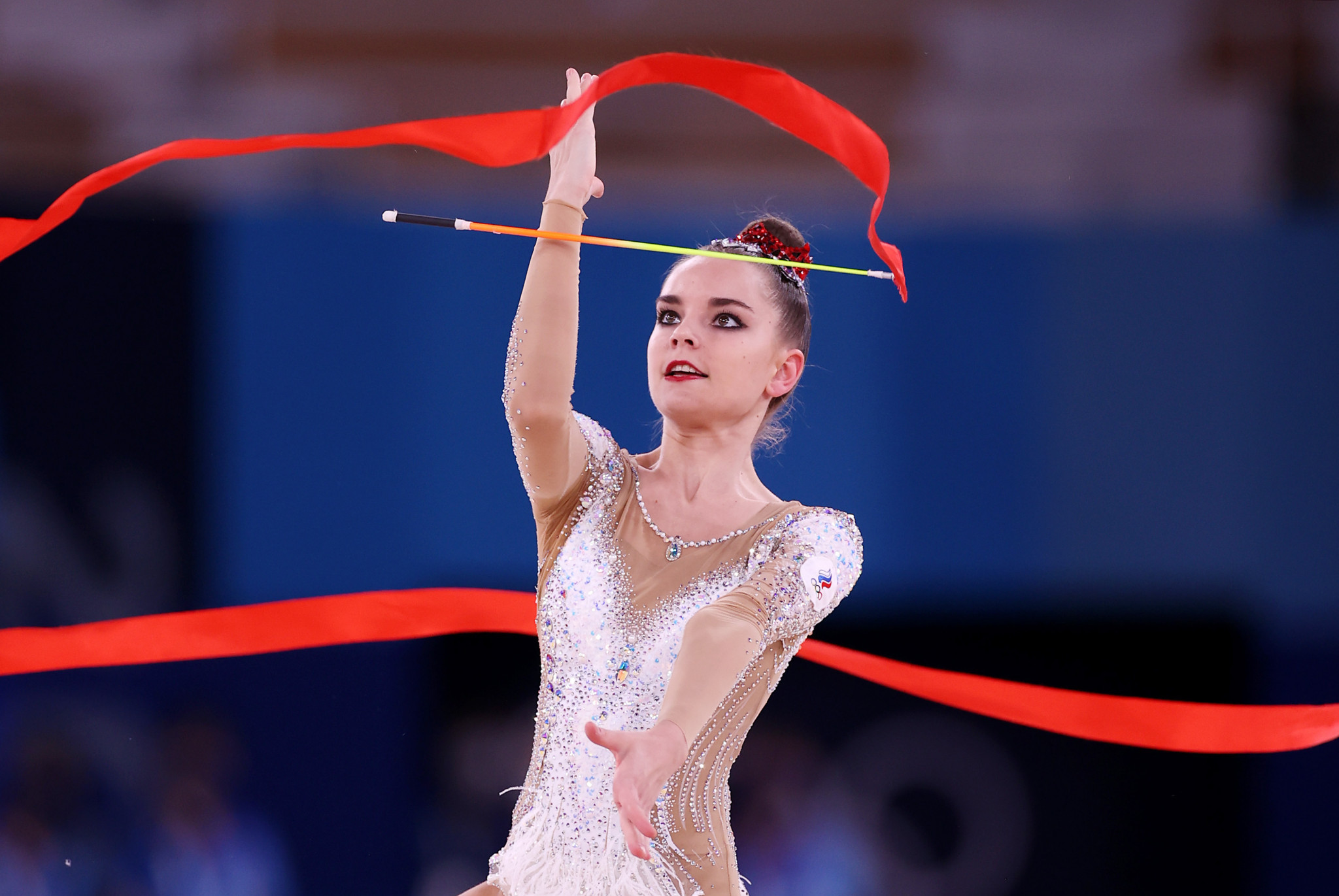 Tokyo 2020 was Dina Averina's first Olympic Games ©Getty Images