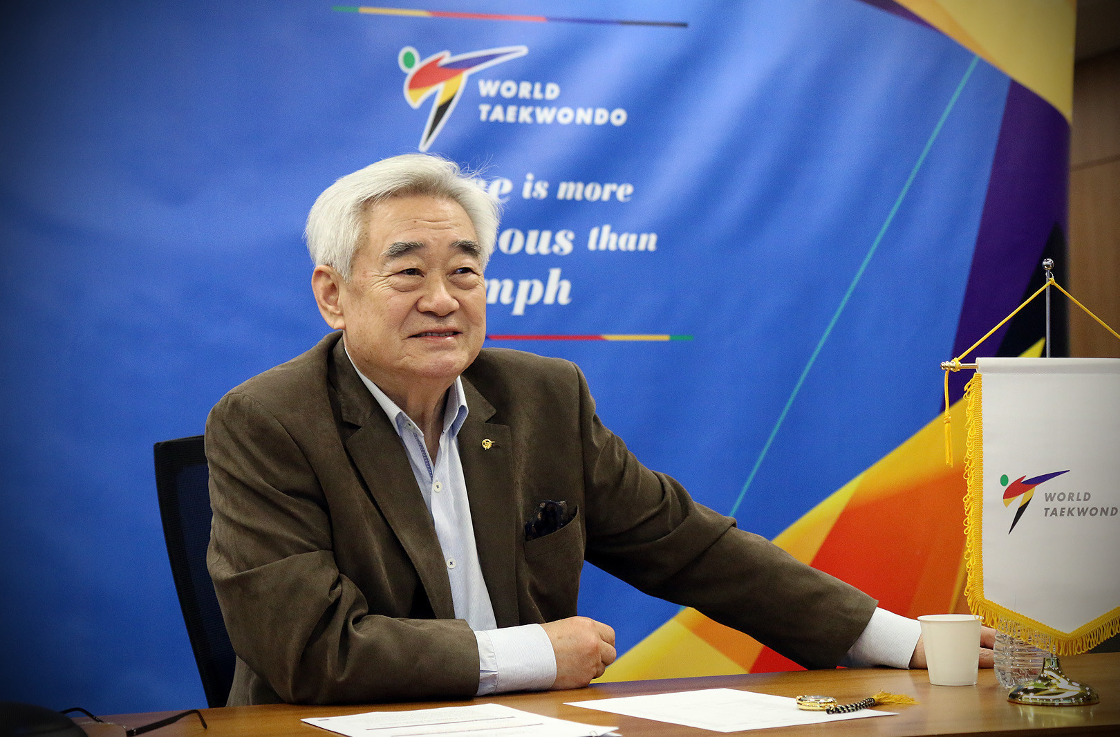 Incumbent Choue to face no challengers in World Taekwondo Presidential election