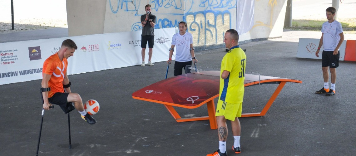 Warsaw Beach Challenger Cup includes Para teqball identification programme