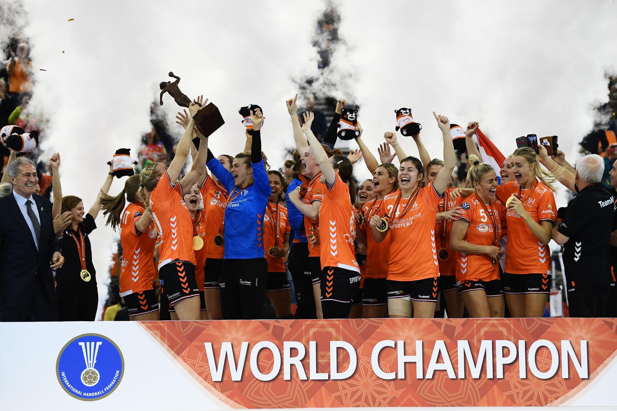 Holandsko je aktuálnym majstrom sveta v hádzanej žien po tom, čo vo finále 2019 porazilo Španielsko o jeden bod. © Getty Images