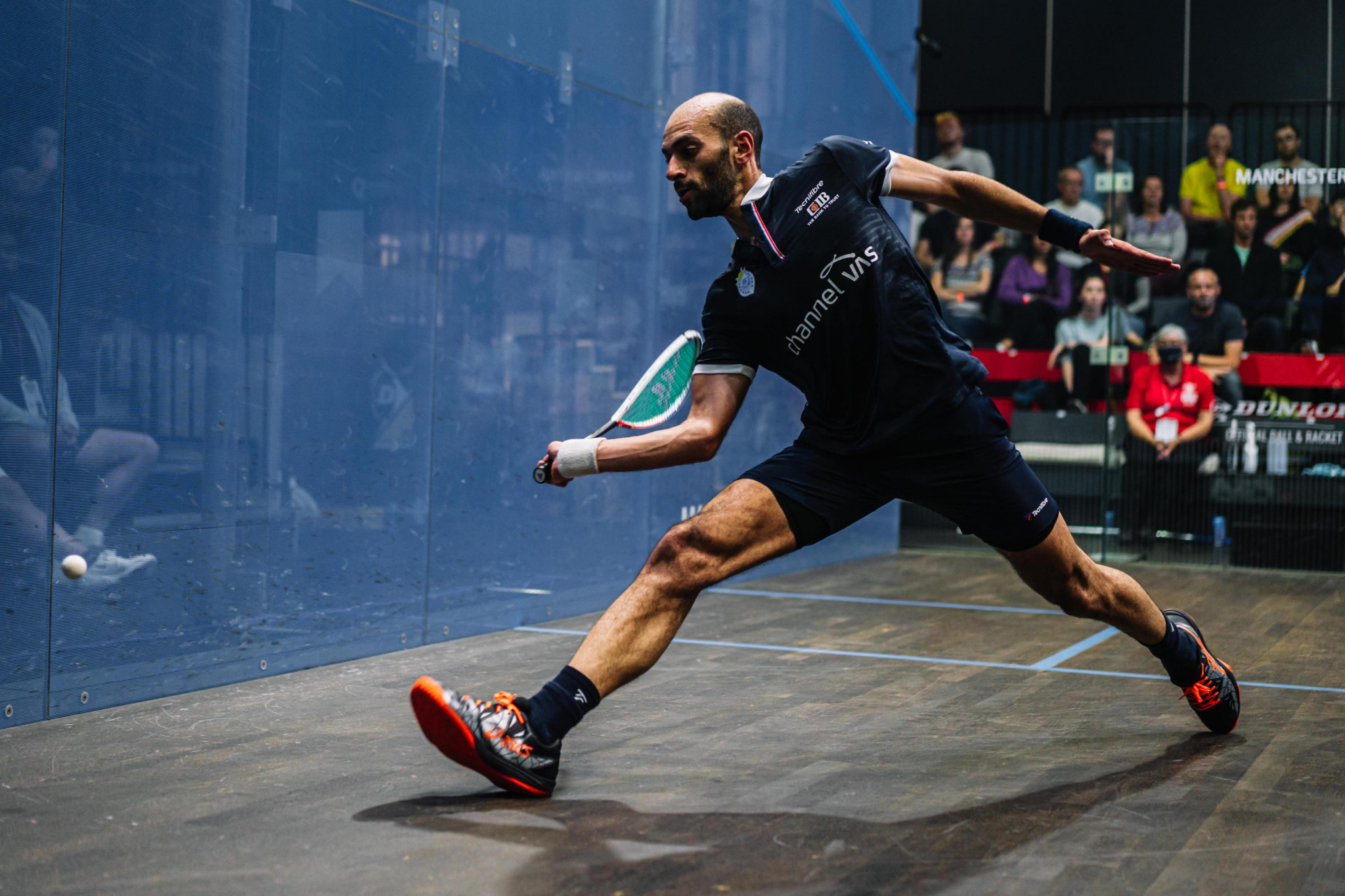 Men's top seed ElShorbagy survives scare as he battles into Manchester Open semi-finals