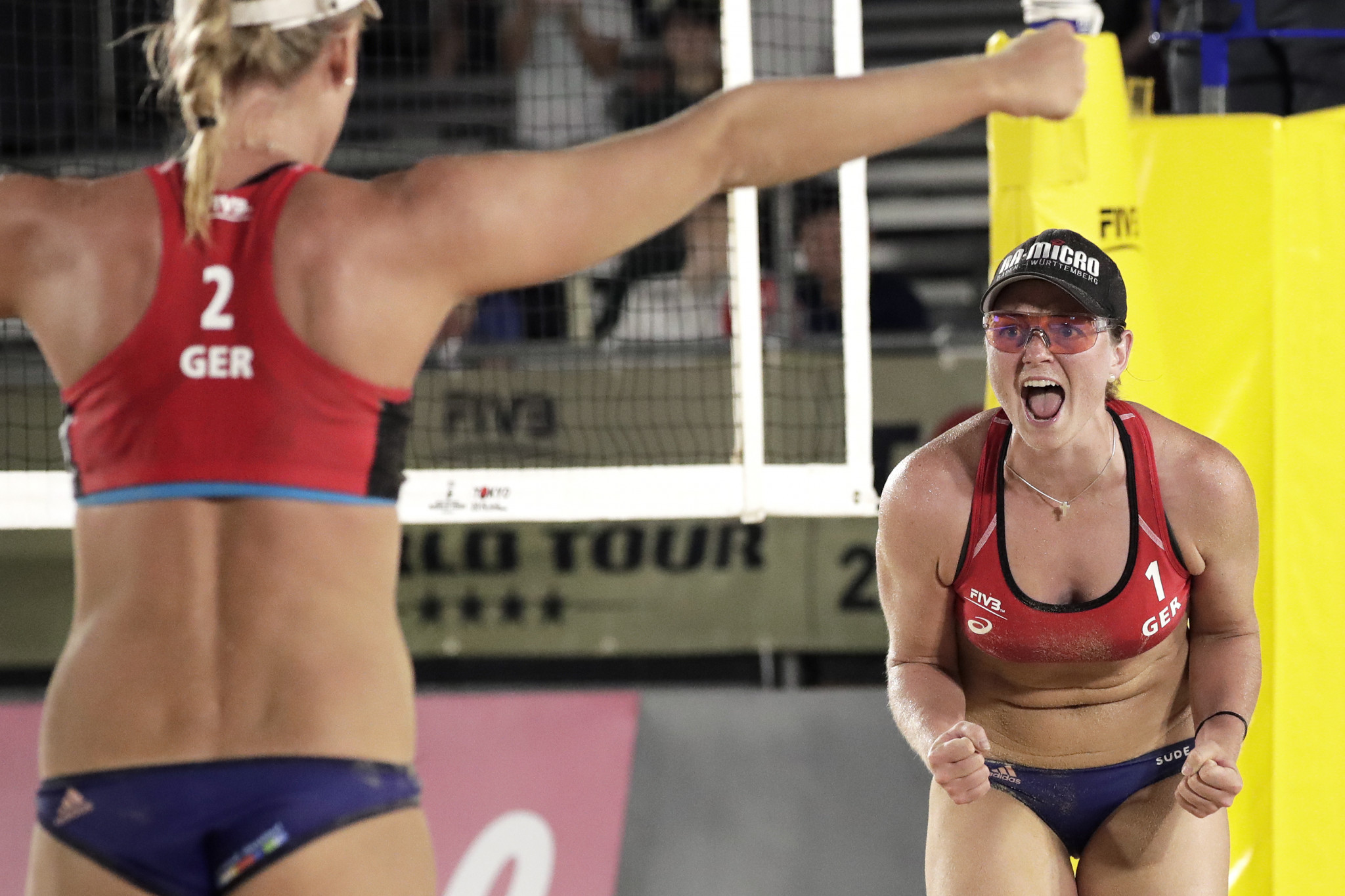 EuroBeachVolley competition starts with women's tournament at Danube Island