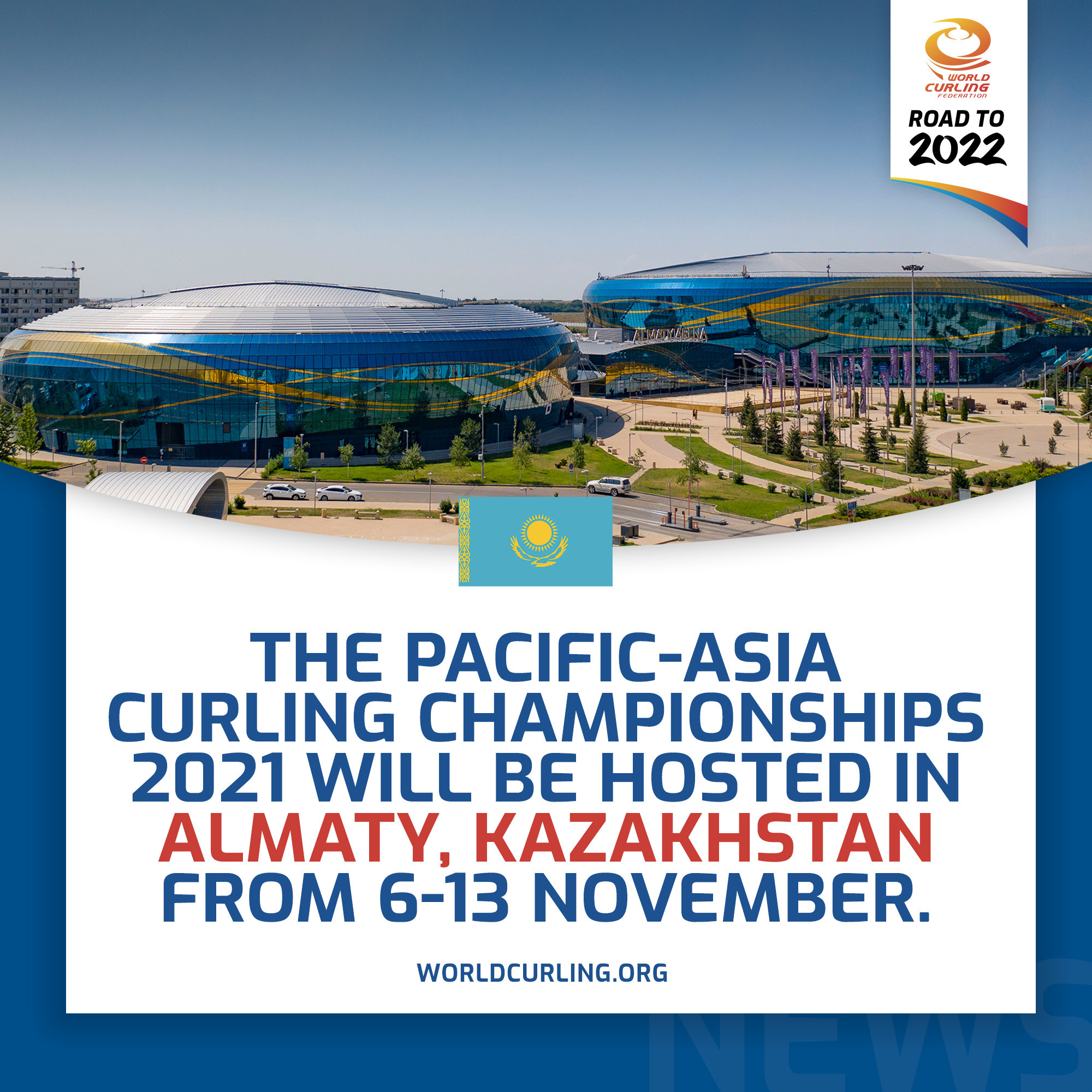Almaty to host 2021 Pacific-Asia Curling Championships