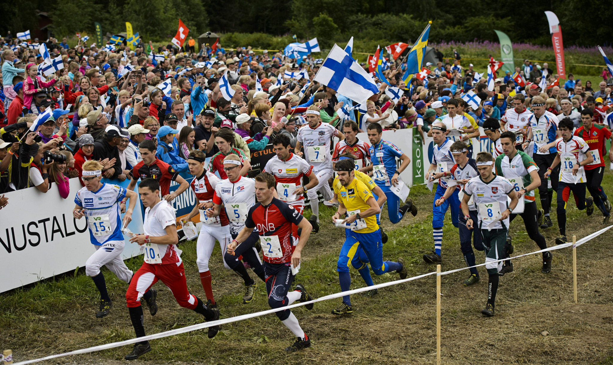 Aebersold and Fosser win long distance races at IOF Orienteering World Cup