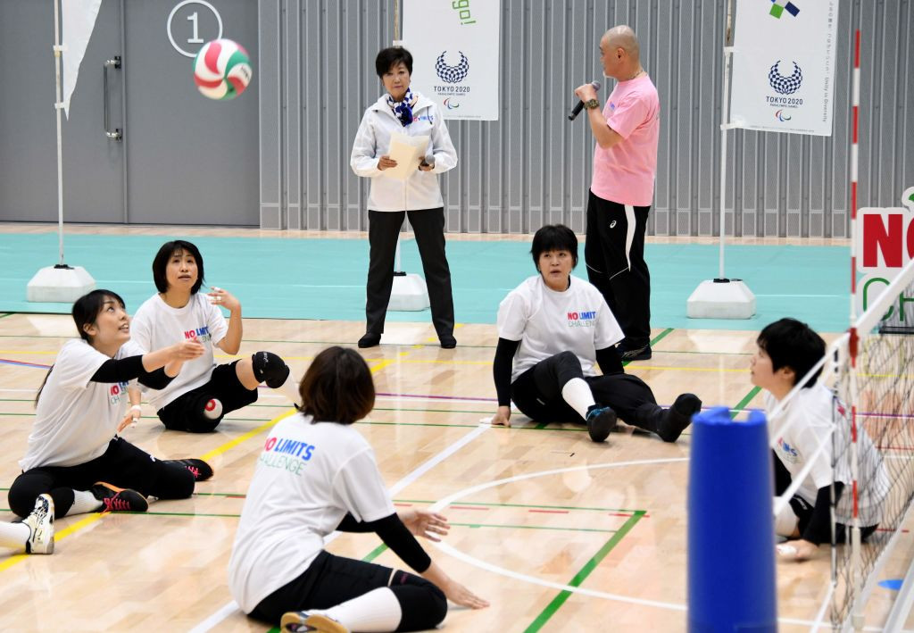 Japan to open sitting volleyball tournament at Tokyo 2020 Paralympics