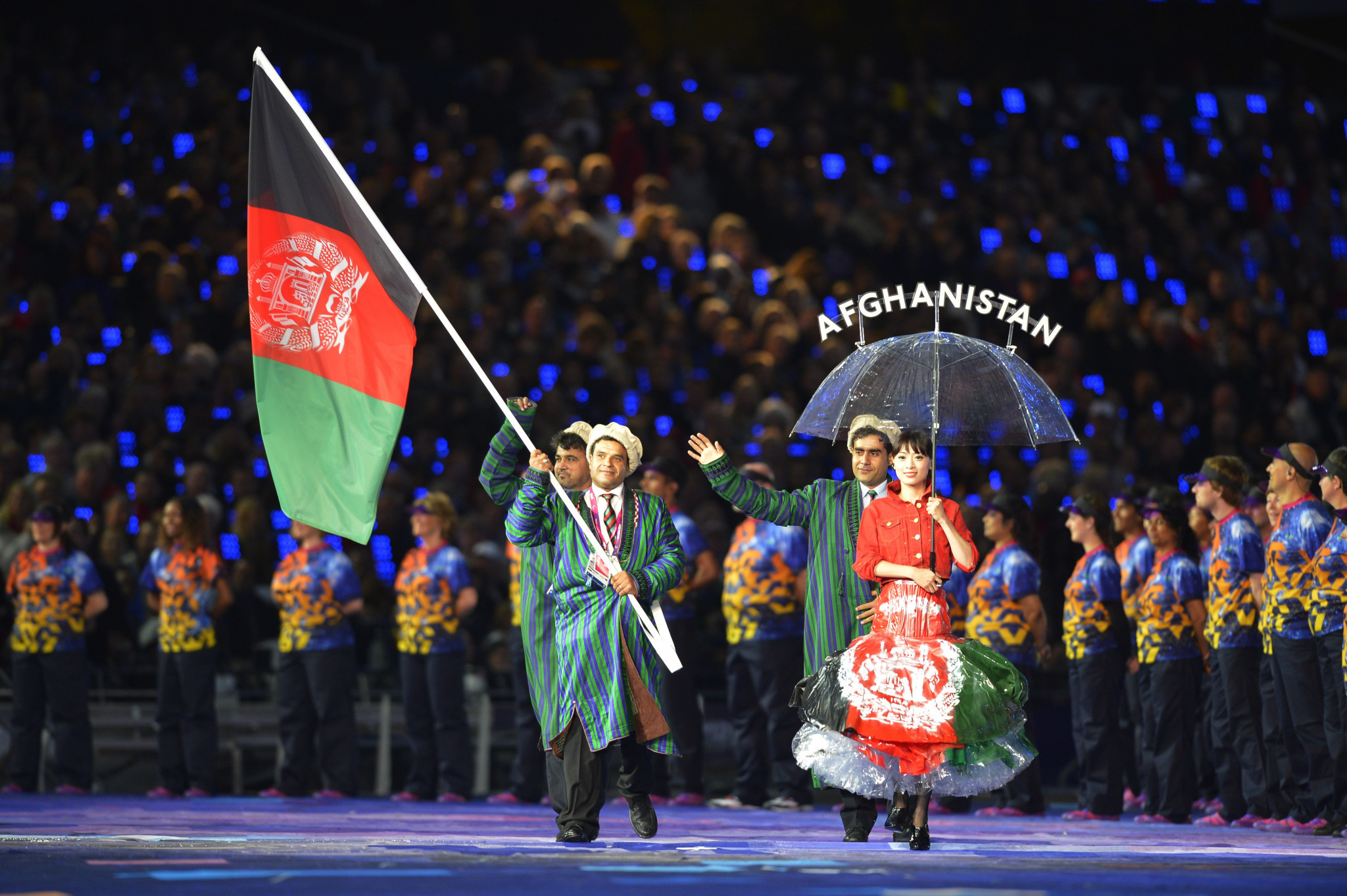 "Taekwondo player Khudadadi ""so proud"" to be Afghanistan's first female Paralympian"